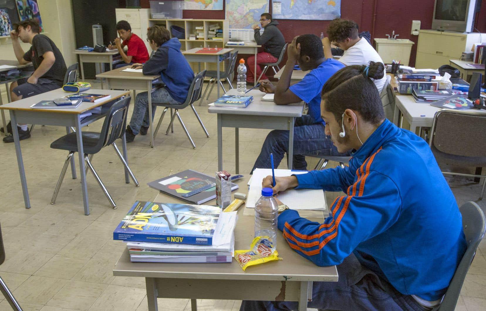 Le Centre d'intégration scolaire de Montréal risque de perdre les locaux qu'il loue dans un bâtiment excédentaire de la CSDM.