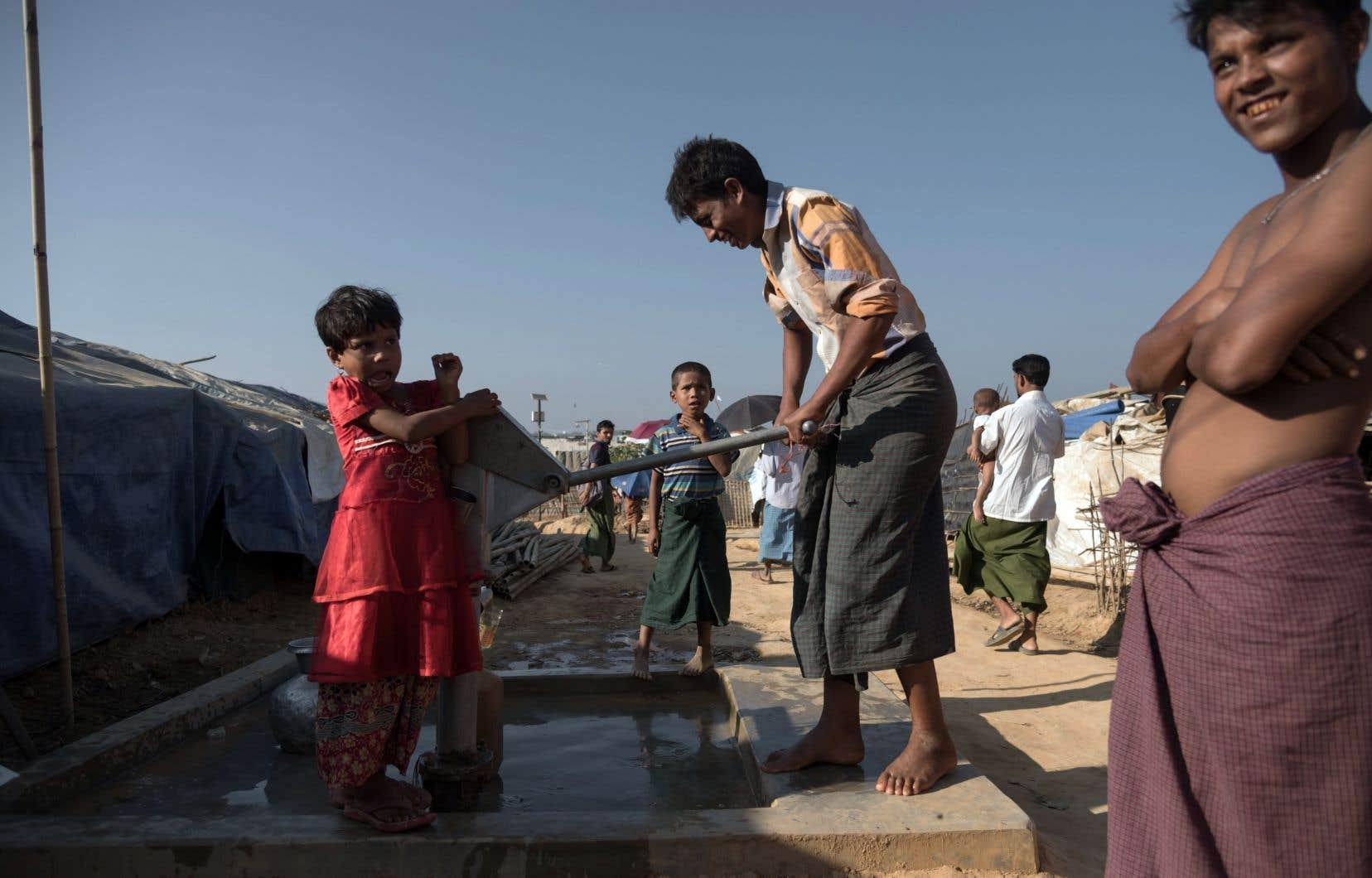 Quelque 900000 Rohingyas du Myanmar sont entassés dans le plus grand camp de réfugiés de la planète, au Bangladesh.