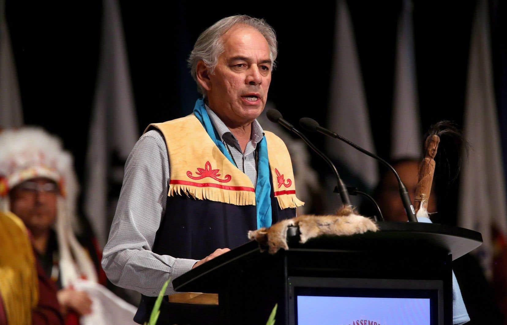 Les ministres québécois diront systématiquement, lorsque le forum et l'auditoire s'y prêtent, que la question autochtone a une place de choix dans les discussions au Conseil des ministres, souligne Ghislain Picard, chef de l'Assemblée des Premières Nations du Québec et Labrador.