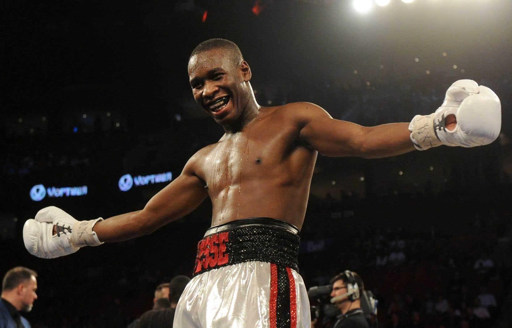 Le boxeur québécois Yves Ulysse