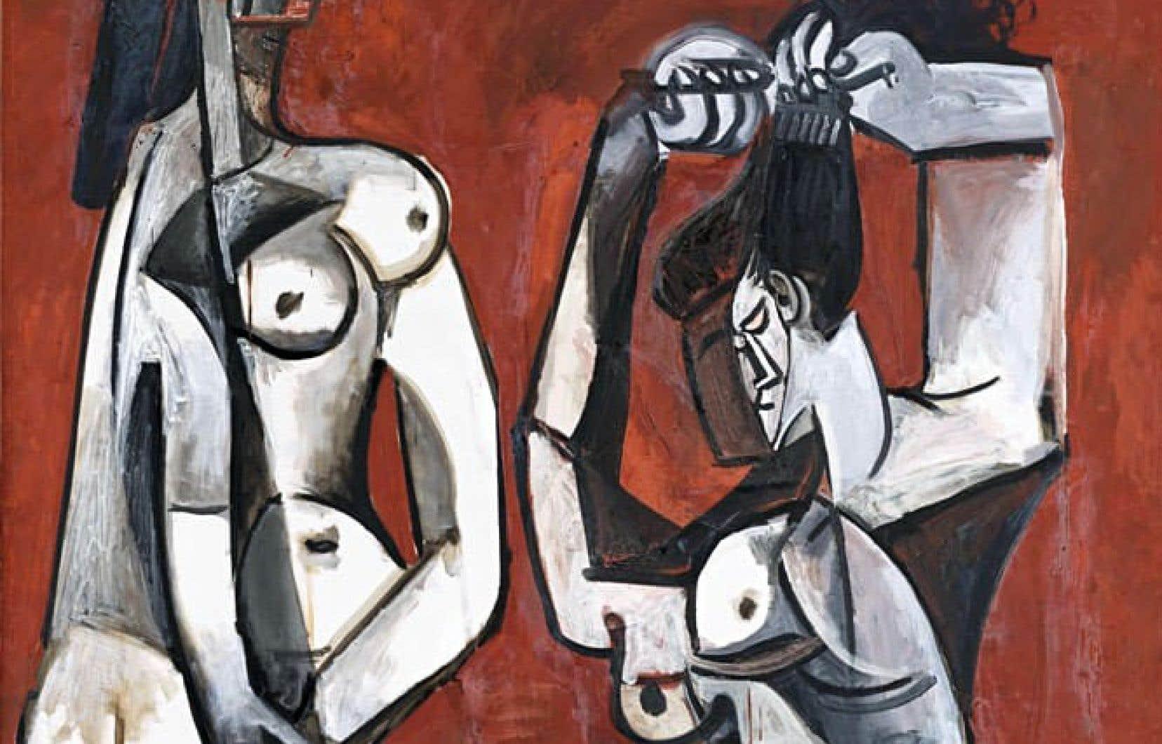L'œuvre «Femmes à la toilette», de Pablo Picasso, fera partie de l'exposition «Face à face: d'hier à aujourd'hui, les arts premiers et Picasso», qui tournera autour du maître espagnol.<br />