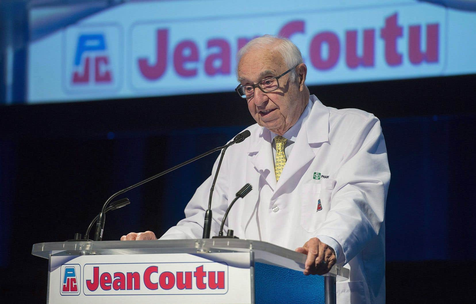 «J'ai fait mon possible et de mon mieux dans le milieu des affaires et ma profession», a lancé Jean Coutu (photographié en juillet dernier).
