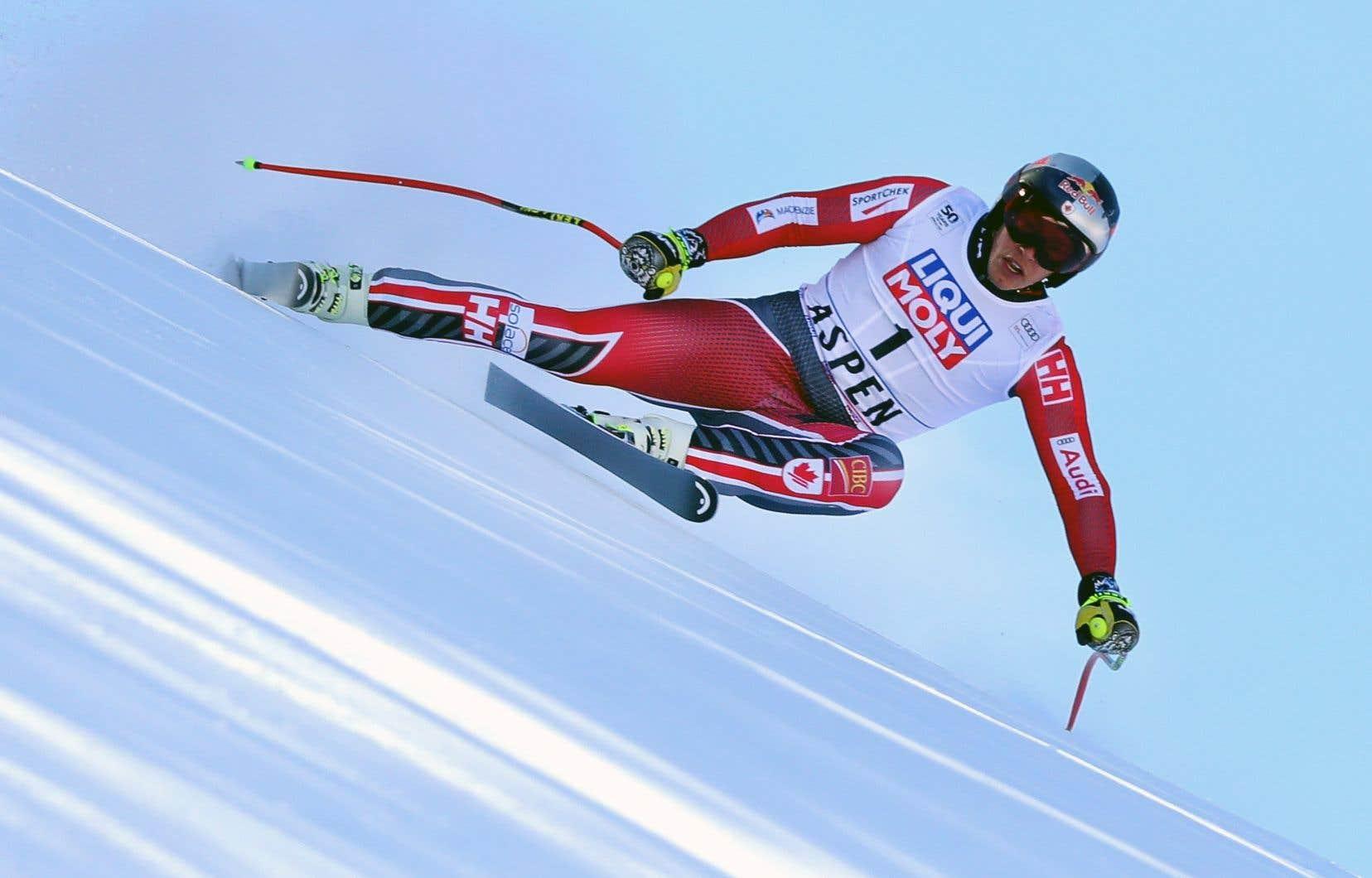 Le Québécois Erik Guay est le skieur alpin canadien le plus prolifique de l'histoire.