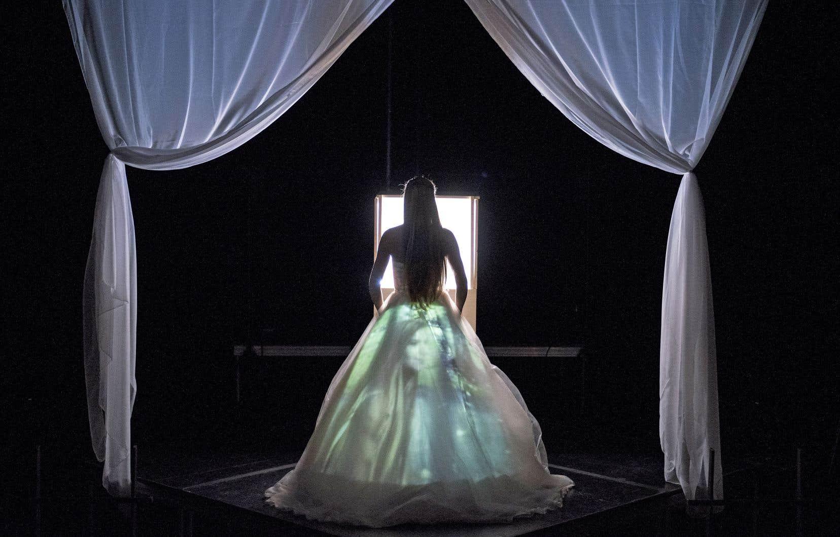 Photo tirée de la pièce «Mythomania», de Nicolas Berzi, présentée en novembre à La Chapelle