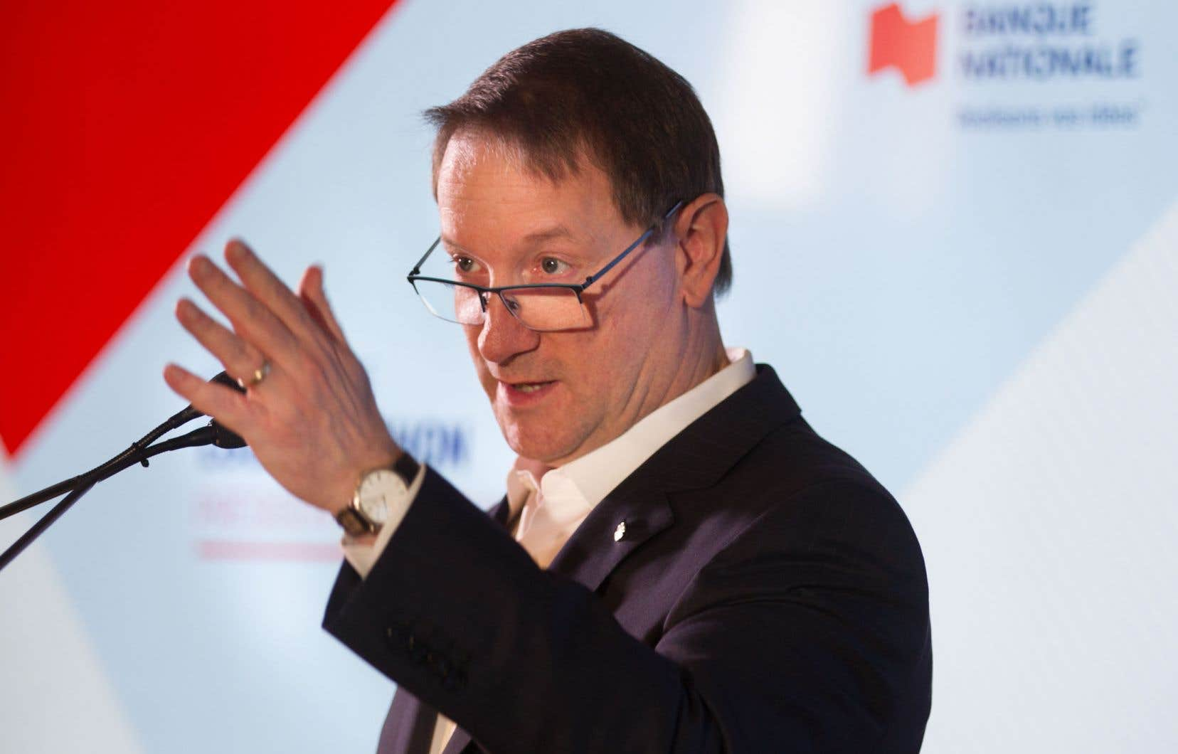 Louis Vachon, président et chef de la direction, n'a pas caché les difficultés que traverse l'entreprise en matière de recrutement.