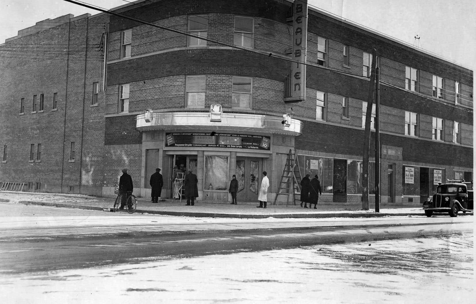 Le théâtre Beaubien a été inauguré le 3décembre 1937.