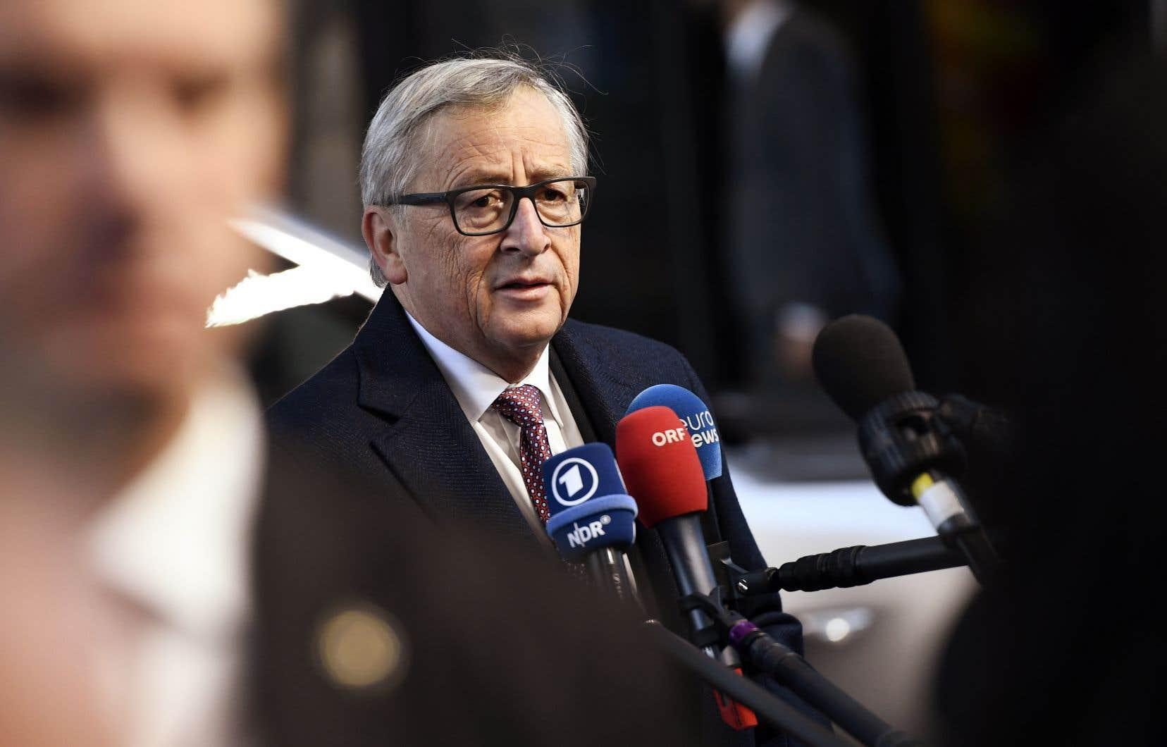 Jean-Claude Juncker le 17novembre dernier