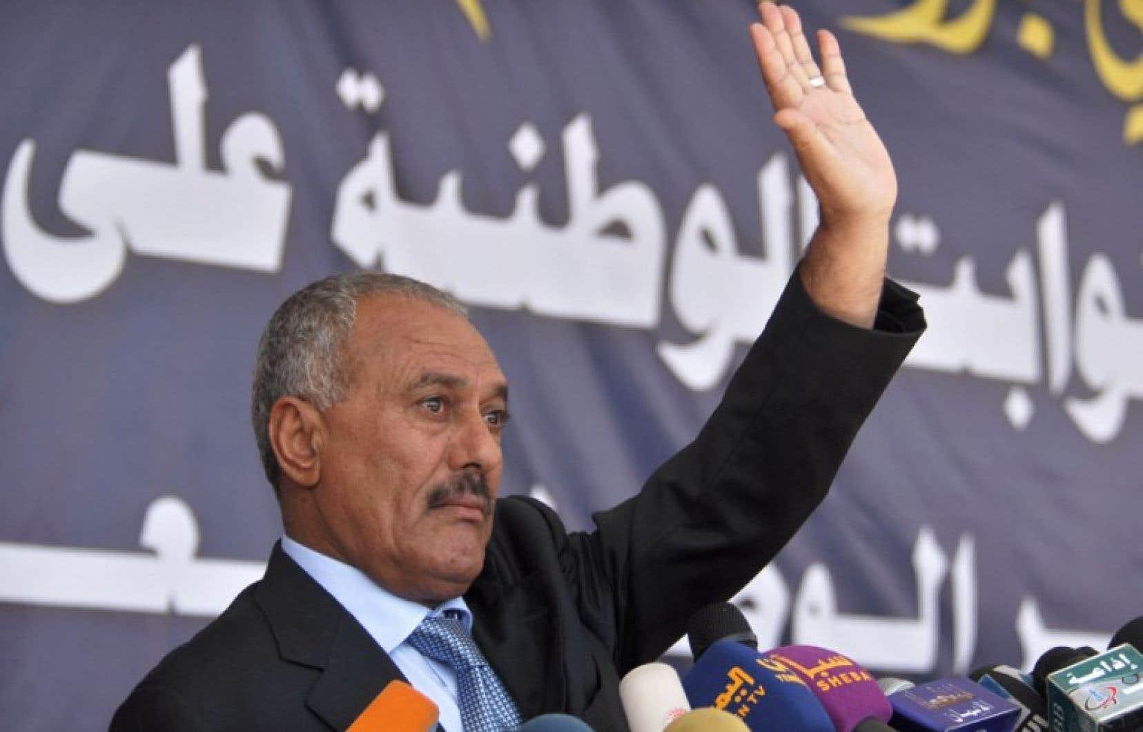 L'ex-président yéménite Ali Abdallah Saleh en 2011