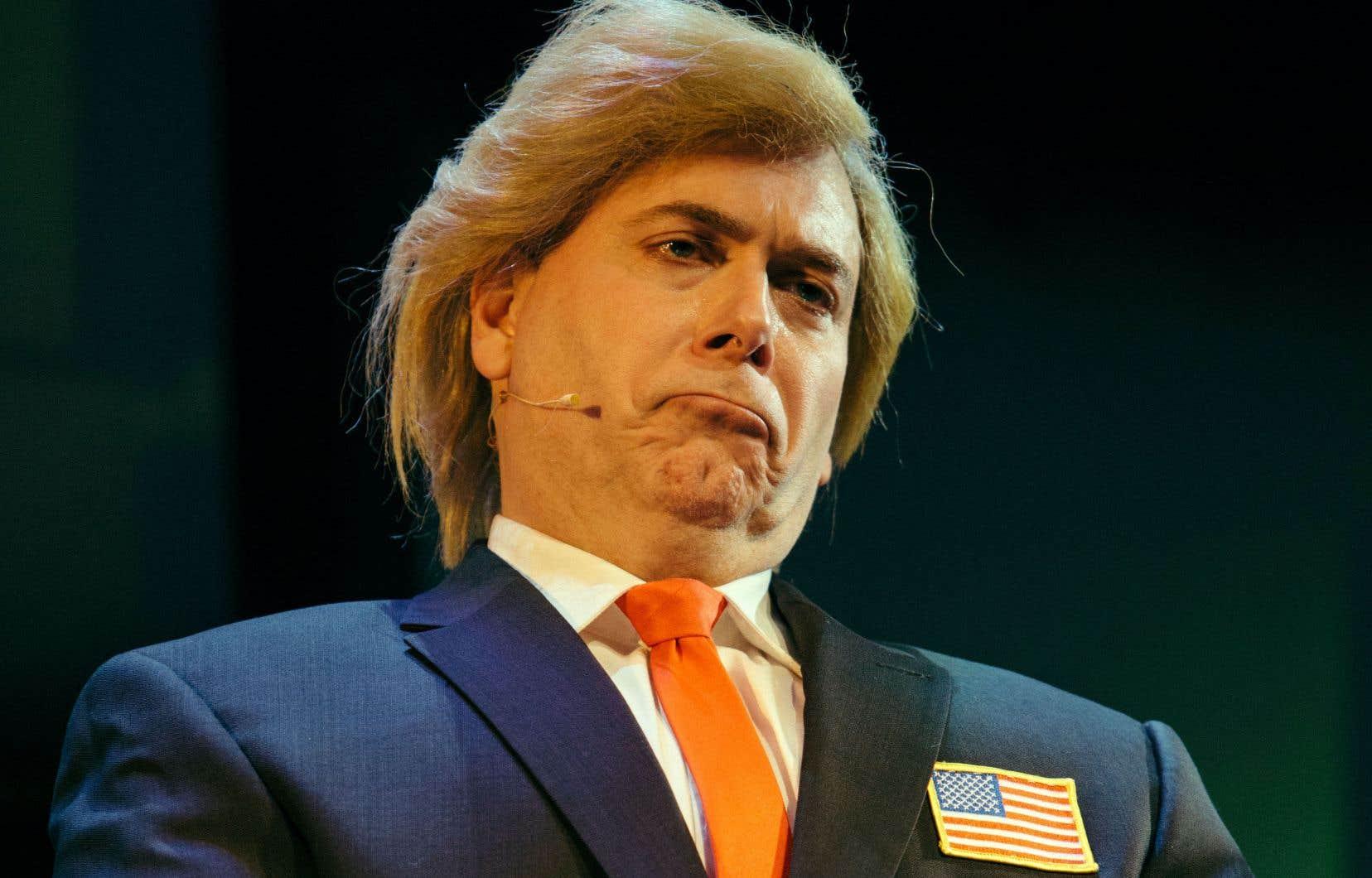 Le président des États-Unis, Donald Trump, n'échappe pas à «2017 revue et corrigée».