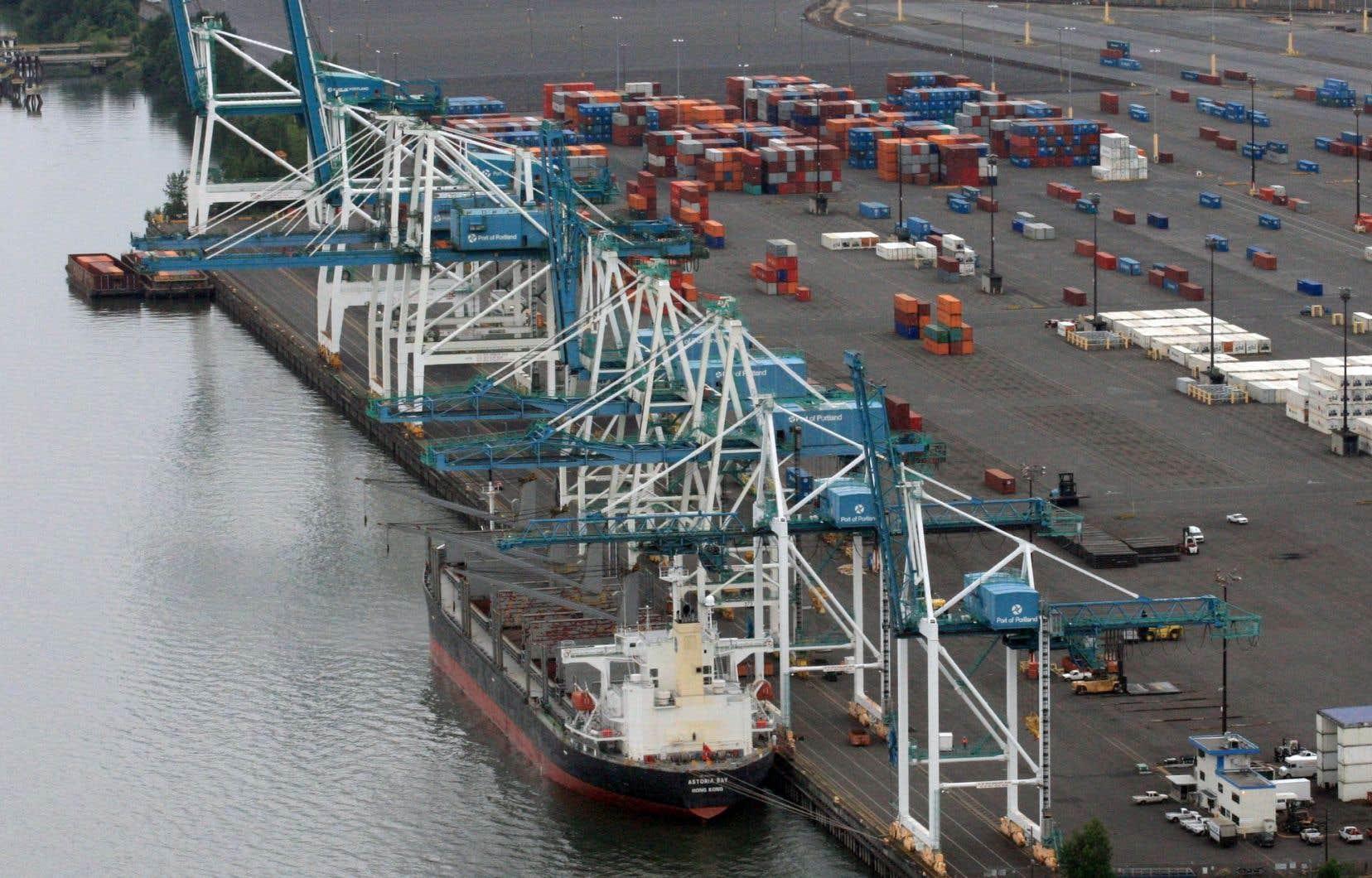 Les exportations ont augmenté de 2,7% en raison de la hausse des exportations vers les États-Unis.