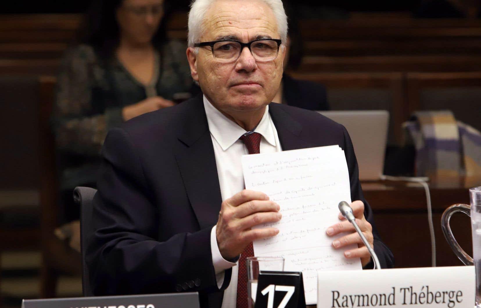 Le commissaire aux langues officielles désigné, Raymond Théberge, a comparu devant le Comité parlementaire des langues officielles mardi.