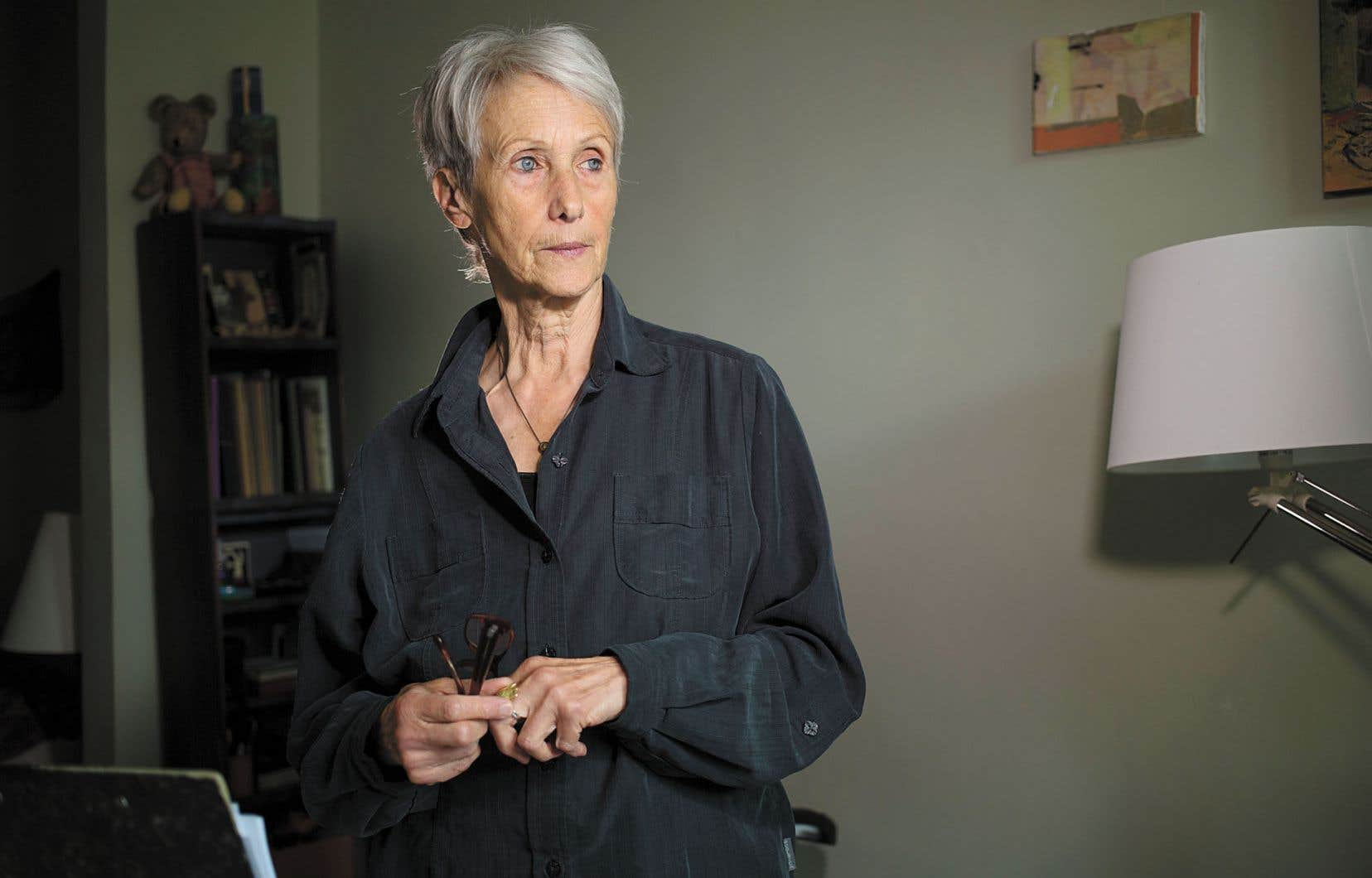 Née en Suisse, l'écrivaine Verena Stefans'est installée à Montréal en 1999.