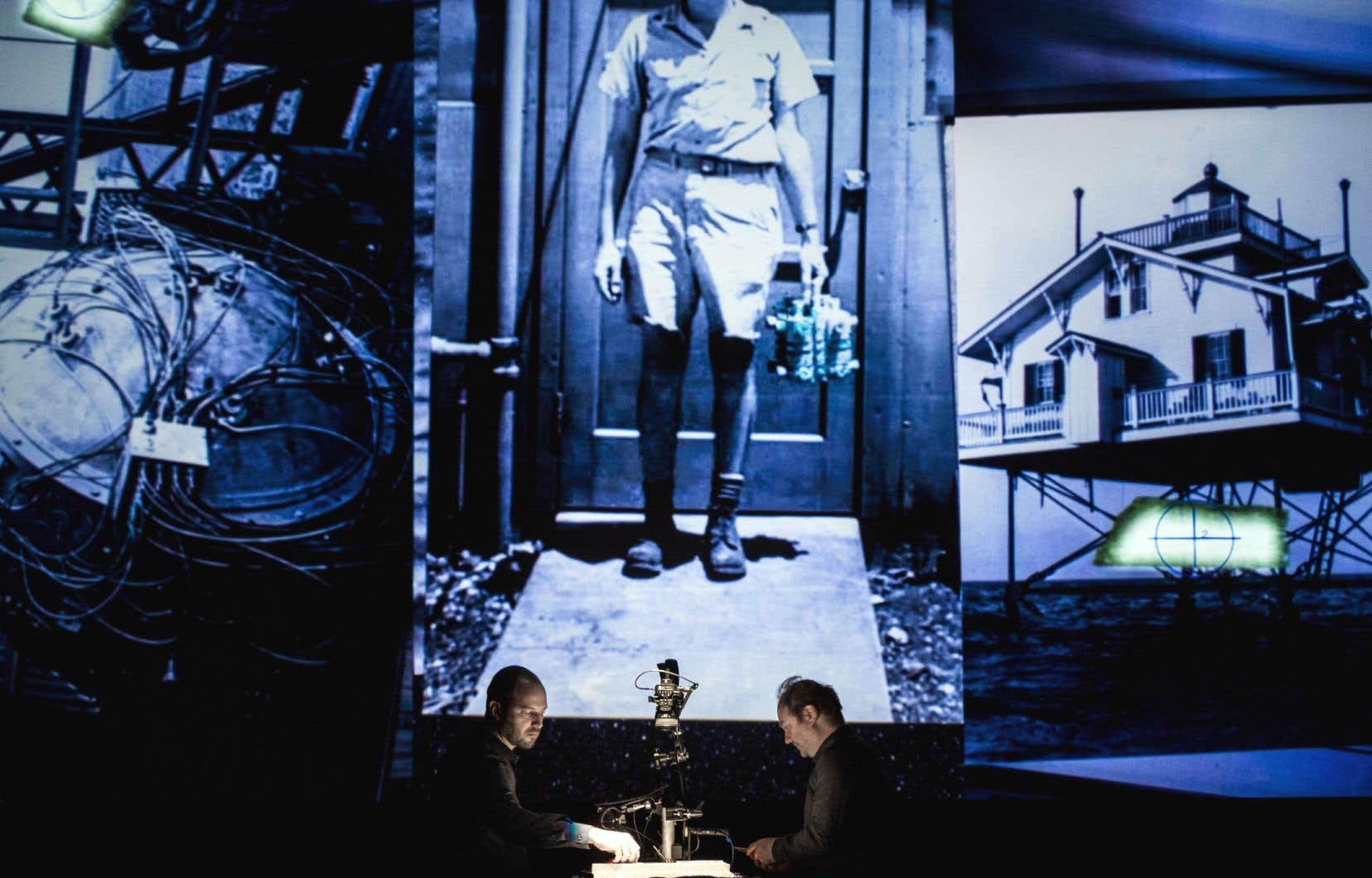 Le spectacle «Trois pièces avec des titres» d'Alexandre Burton et Julien Roy