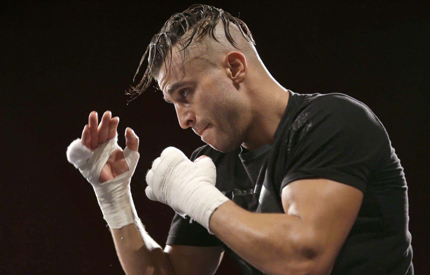 Le boxeur David Lemieux