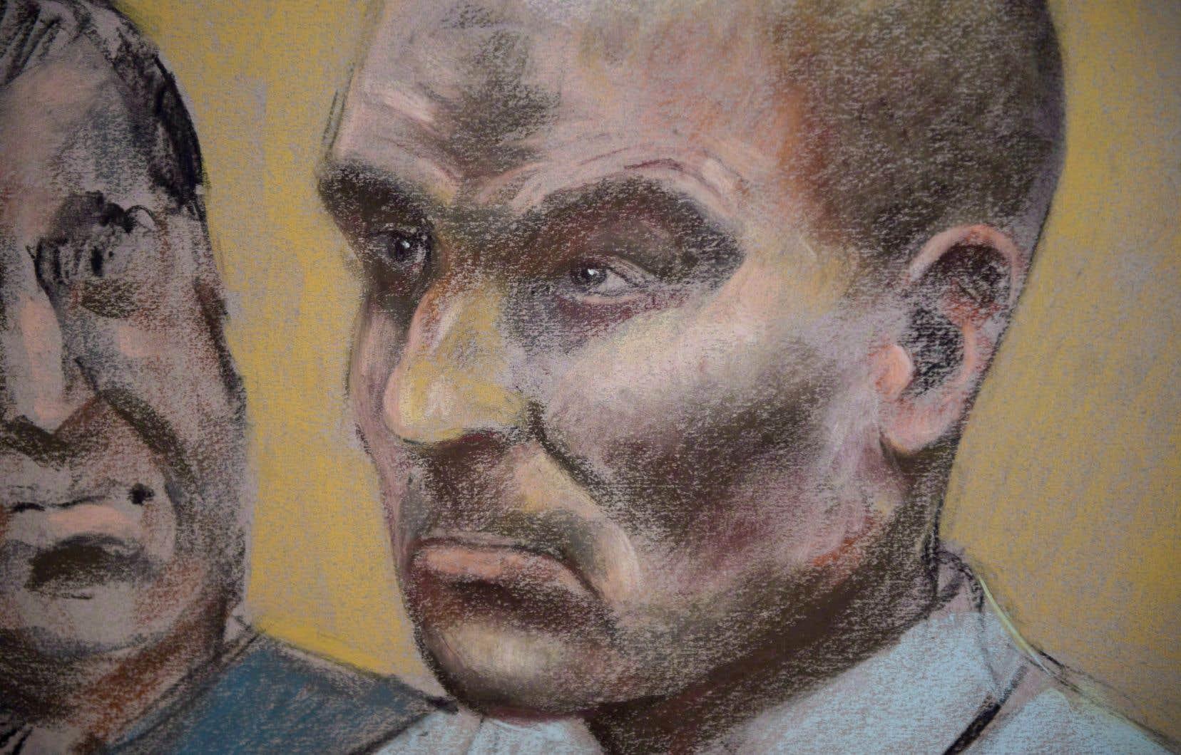 <p>Bertrand Charest fait face à une peine maximale de 14ans.</p>