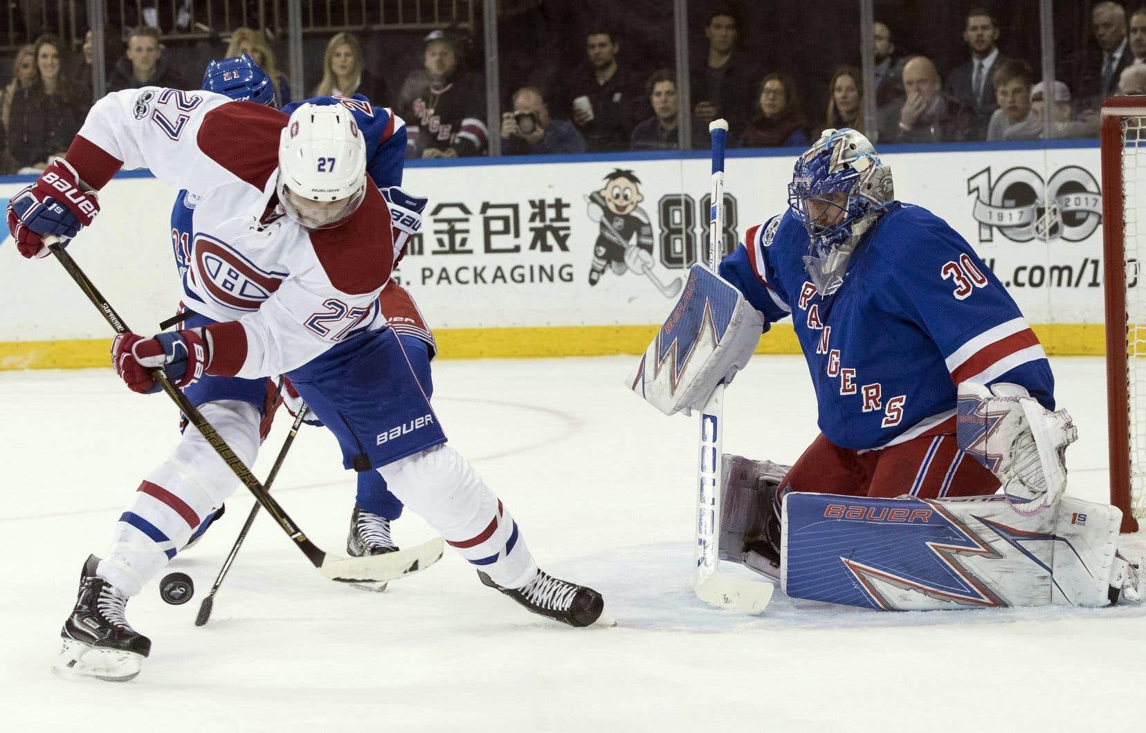 Capable de prouesses offensives, Alex Galchenyuk se fait discret trop souvent sur la patinoire selon son entraîneur-chef.