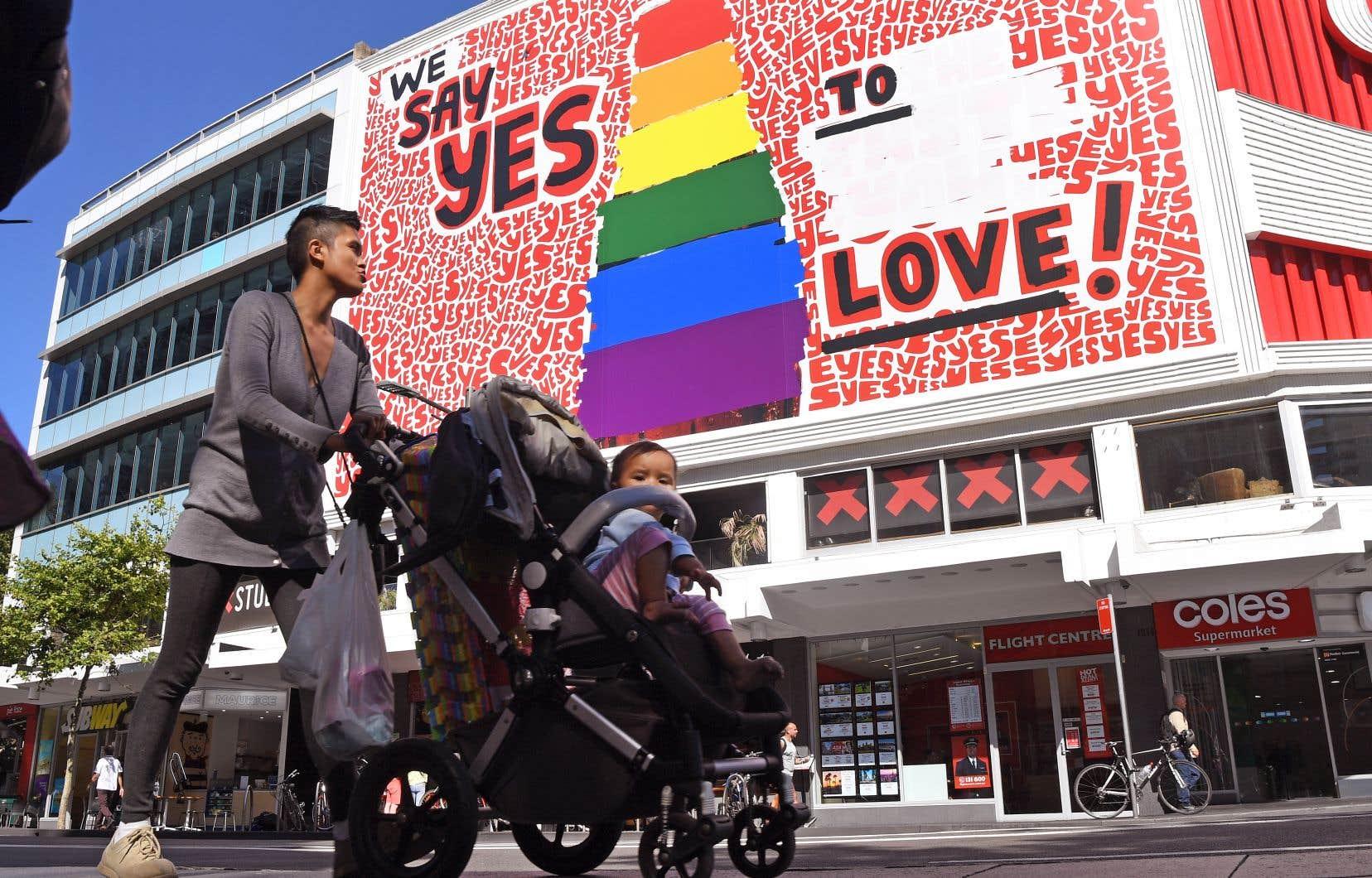 Le Parlement australien a légalisé la semaine dernière le mariage entre conjoints de même sexe.