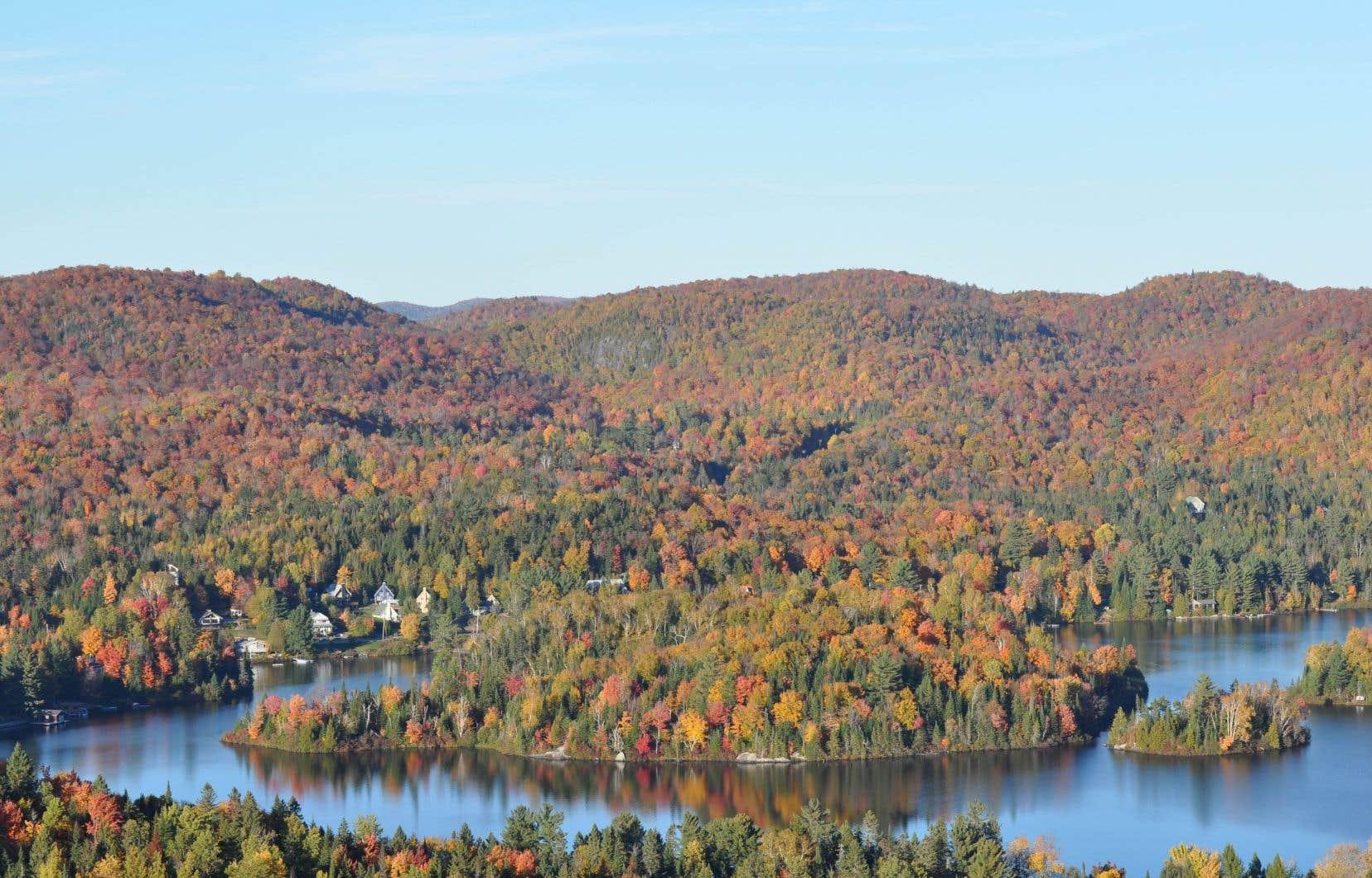 Saint-Adolphe-d'Howard rappelle que l'économie de la municipalité repose sur le tourisme et la villégiature.