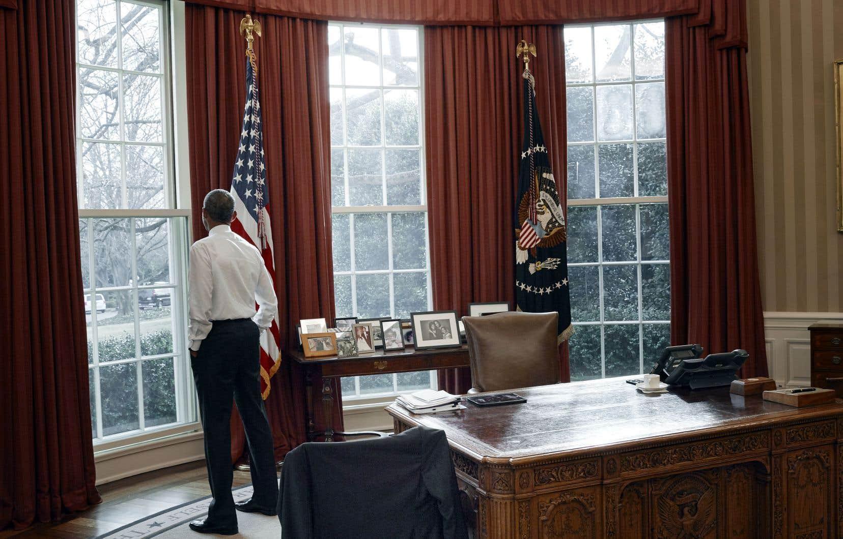 Barack Obama, le 19 janvier 2017