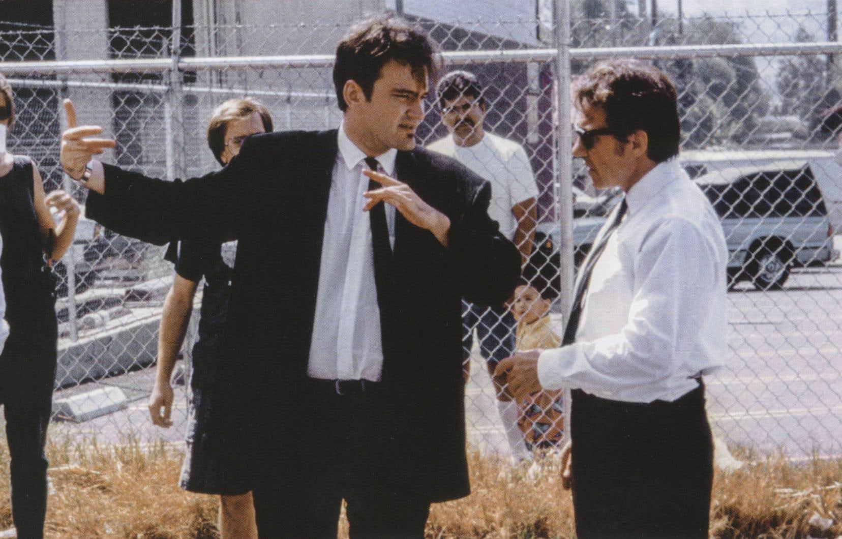Dialogue avec Harvey Keitel sur le plateau de Reservoir Dogs, 1992
