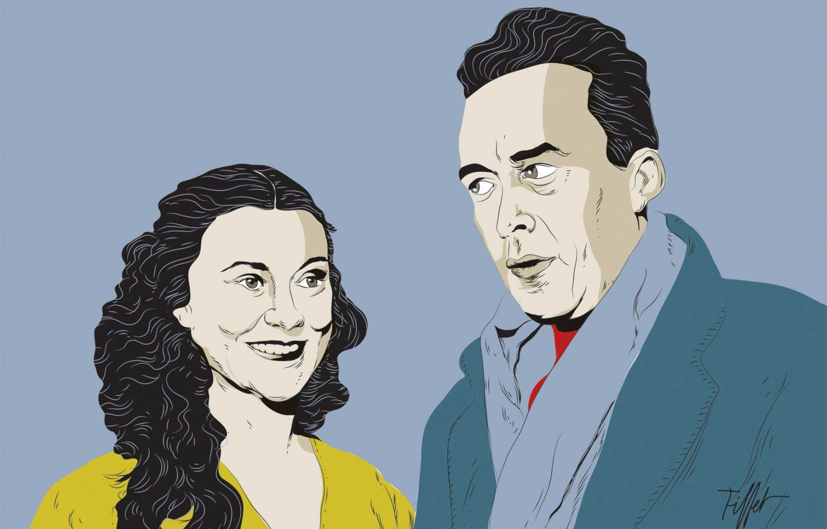 Entre 1944 et 1959, l'écrivain et la comédienne ont laissé leur passion adultère s'enflammer au cœur de 865 lettres.