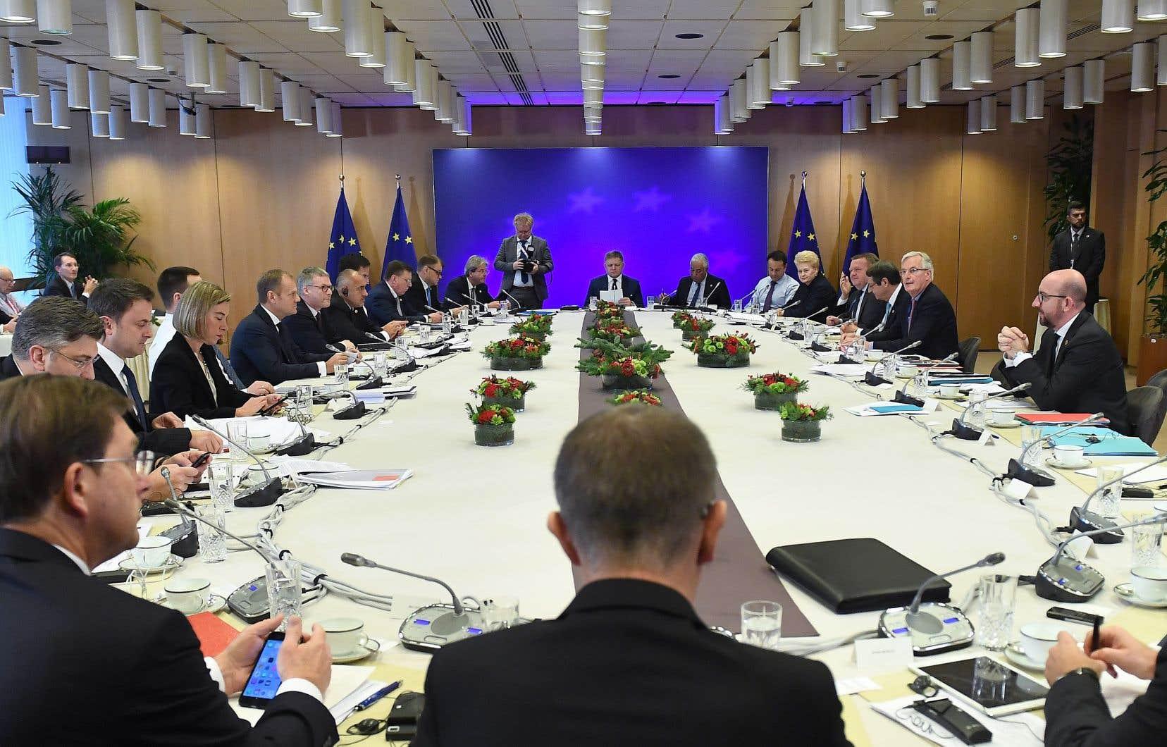 Au menu des discussions figurent notamment des propositions comme la création d'un ministre européen des Finances en charge d'un budget de la zone euro.