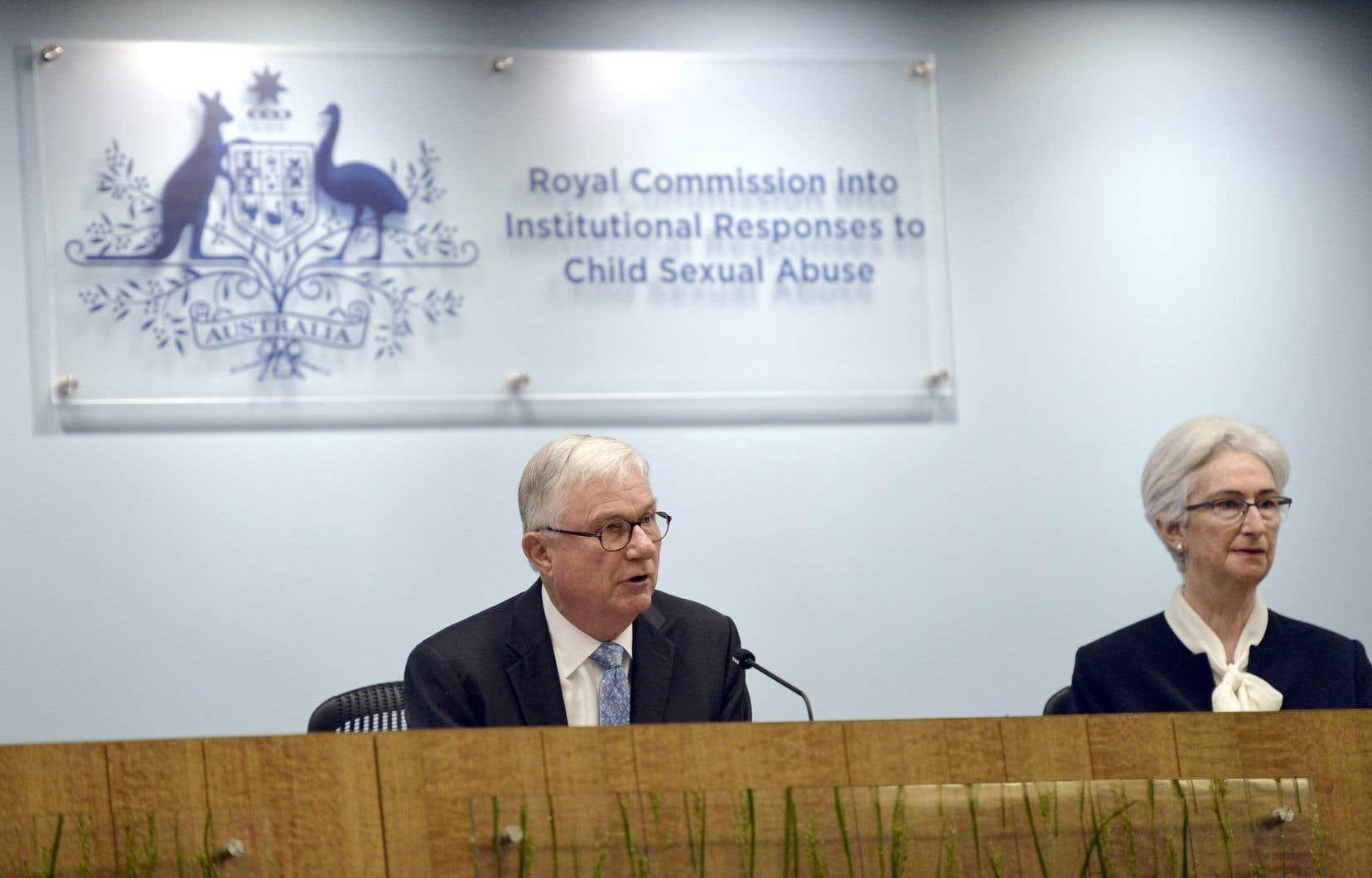 «Des dizaines de milliers d'enfants ont été victimes d'agressions sexuelles dans de nombreuses institutions australiennes. Nous n'en connaîtrons jamais le chiffre exact», écrit dans son rapport final la Commission d'enquête.