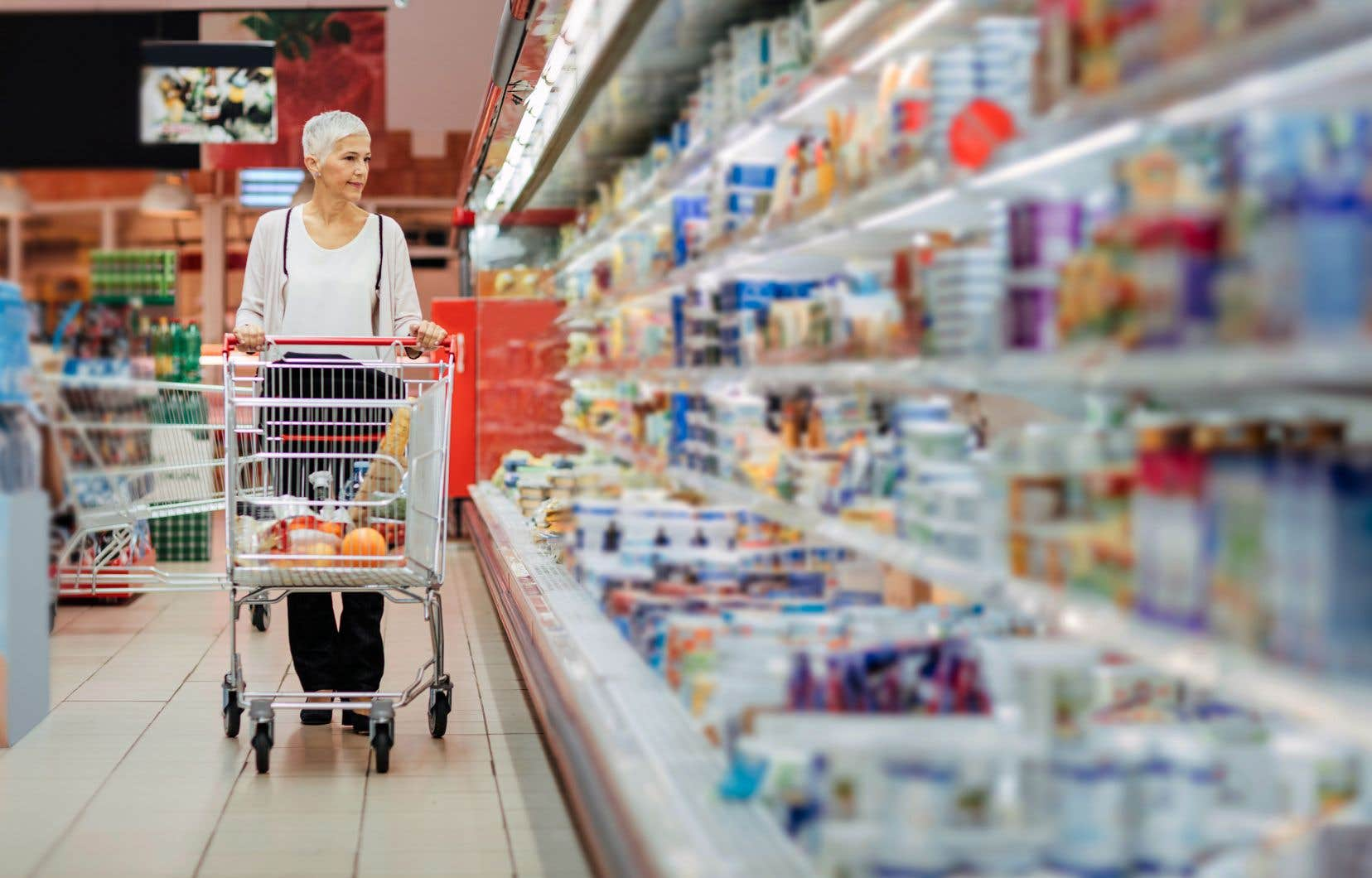 Chaque épicerie a récolté en moyenne 157$ de plus par année, selon Christina Cheng.