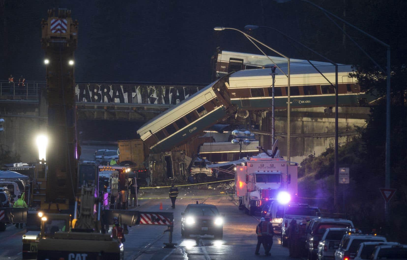 <p>Le train effectuait le voyage inaugural sur un tronçon qui venait d'être rénové.</p>