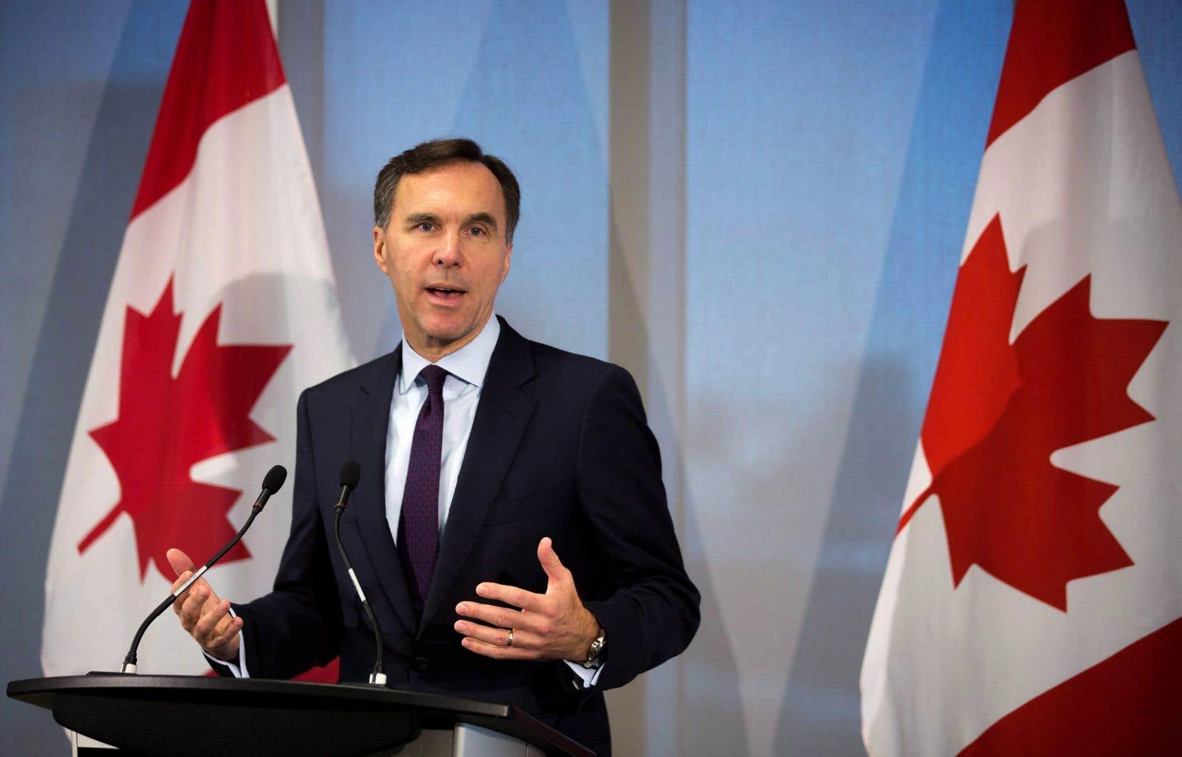 Selon un fiscaliste, tout repose sur le prochain budget du ministre des Finances, Bill Morneau.
