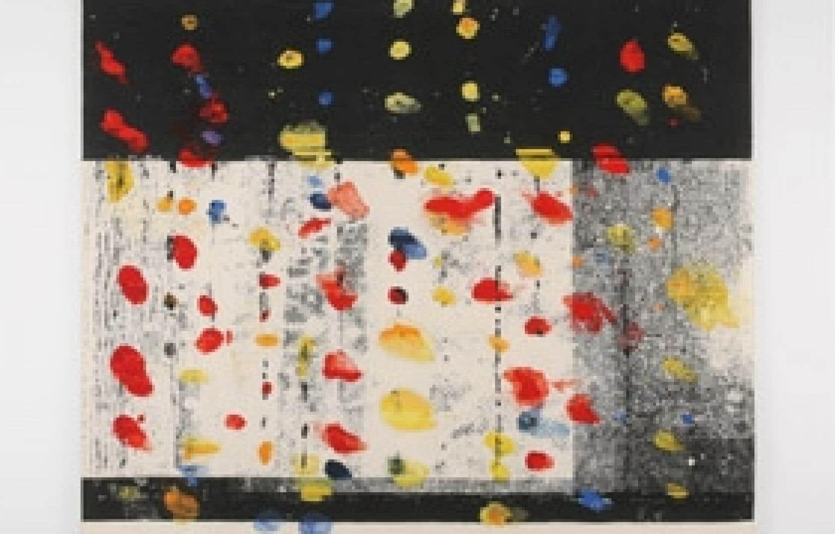 Averse chromatique, de Marcel Marois. 2003-2008.