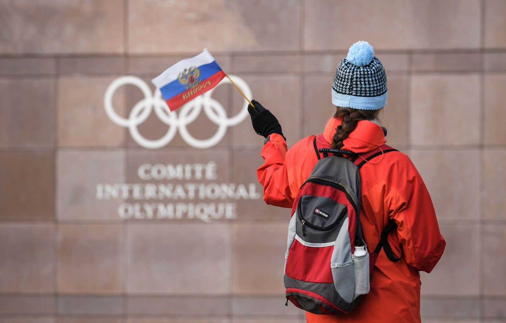 La Russie a été suspendue par le Comité international olympique en raison du programme de dopage institutionnalisé mis au jour par une commission d'enquête.