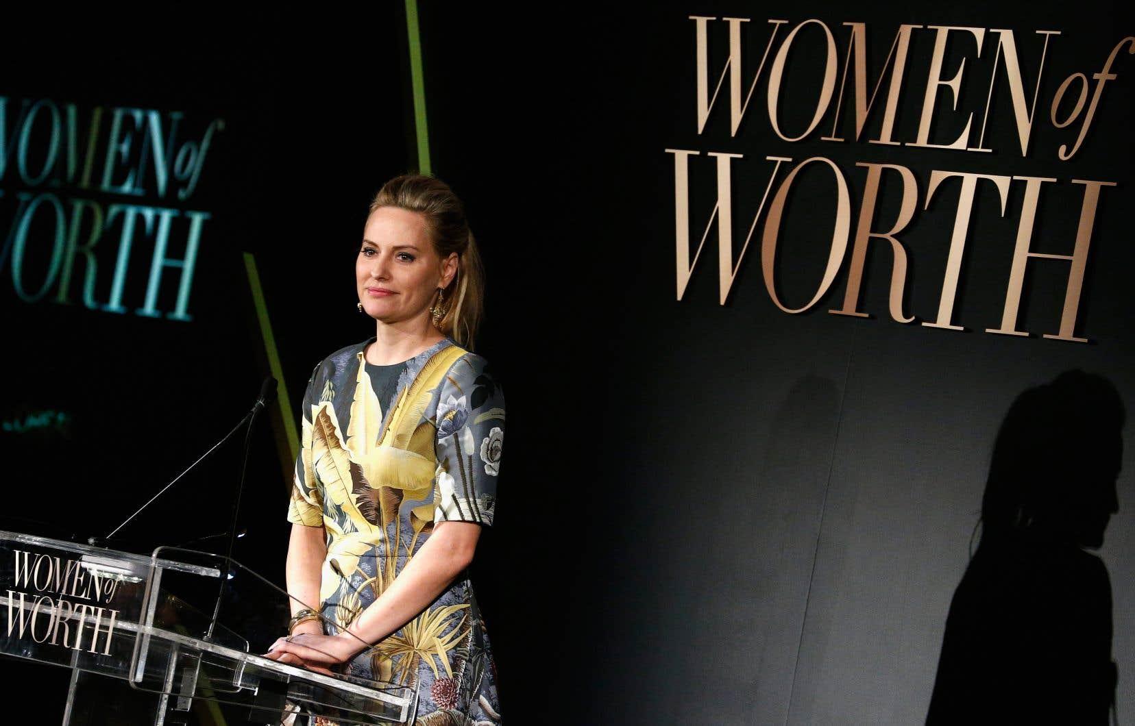 L'athlète, mannequin et actrice Aimee Mullins, en 2016