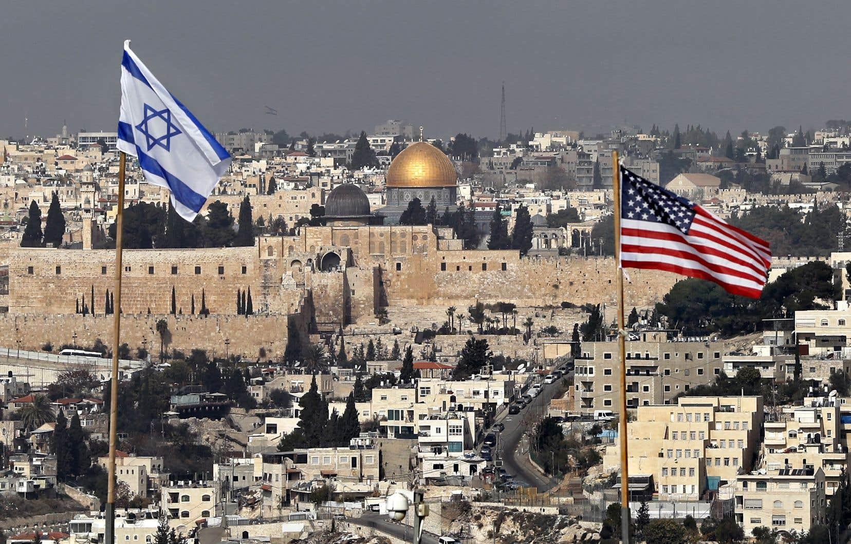 Une large majorité de pays a condamné la décision étasunienne de reconnaître Jérusalem comme capitale de l'État d'Israël.