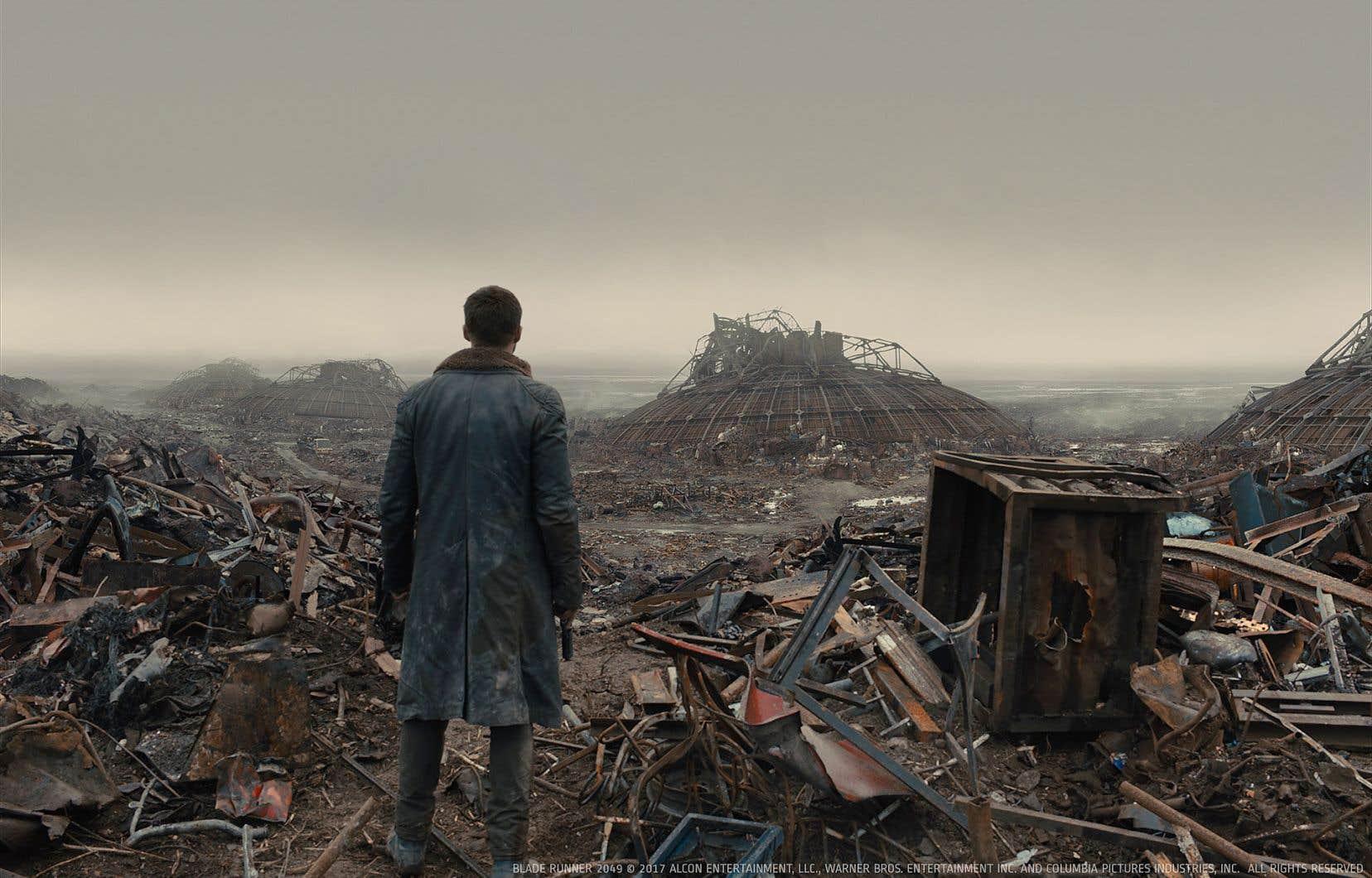 Rodeo FX a conçu environ 75 plans pour «Blade Runner 2049», la plupart étant des extensions de décors.