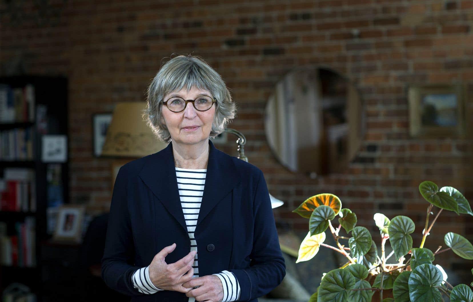 L'auteure Carole Fréchette a accueilli «Le Devoir» chez elle, dans son magnifique antre du Plateau.