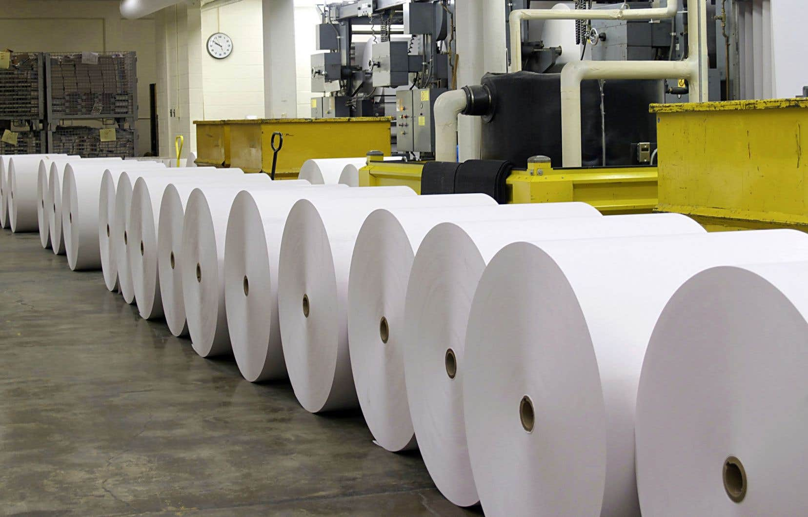 L'enquête porte sur le papier de pâte mécanique non couché, ce qui inclut entre autres le papier journal, le papier d'édition et le papier pour bottins.