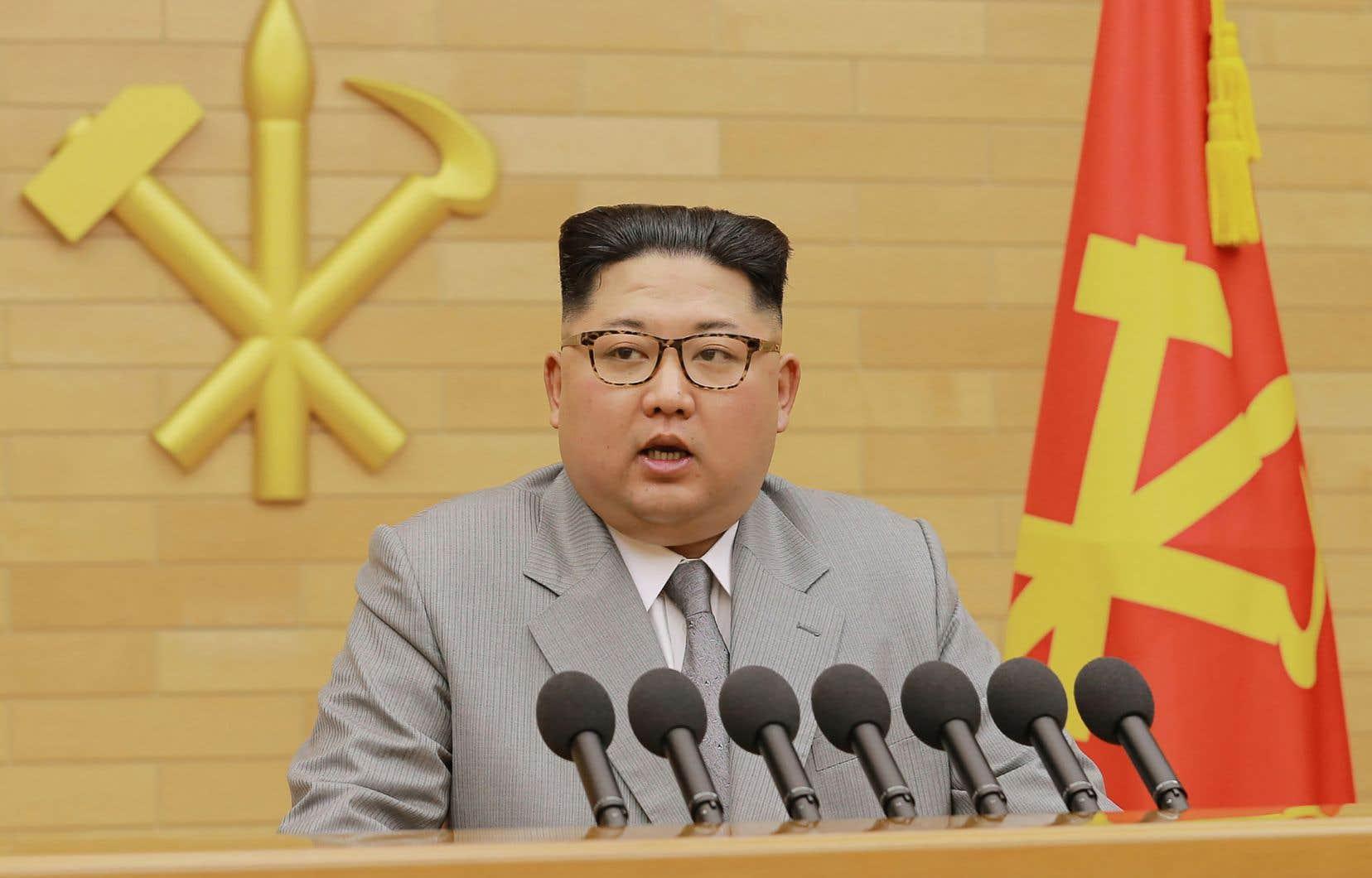 Le numéro un nord-coréen, Kim Jong-Un