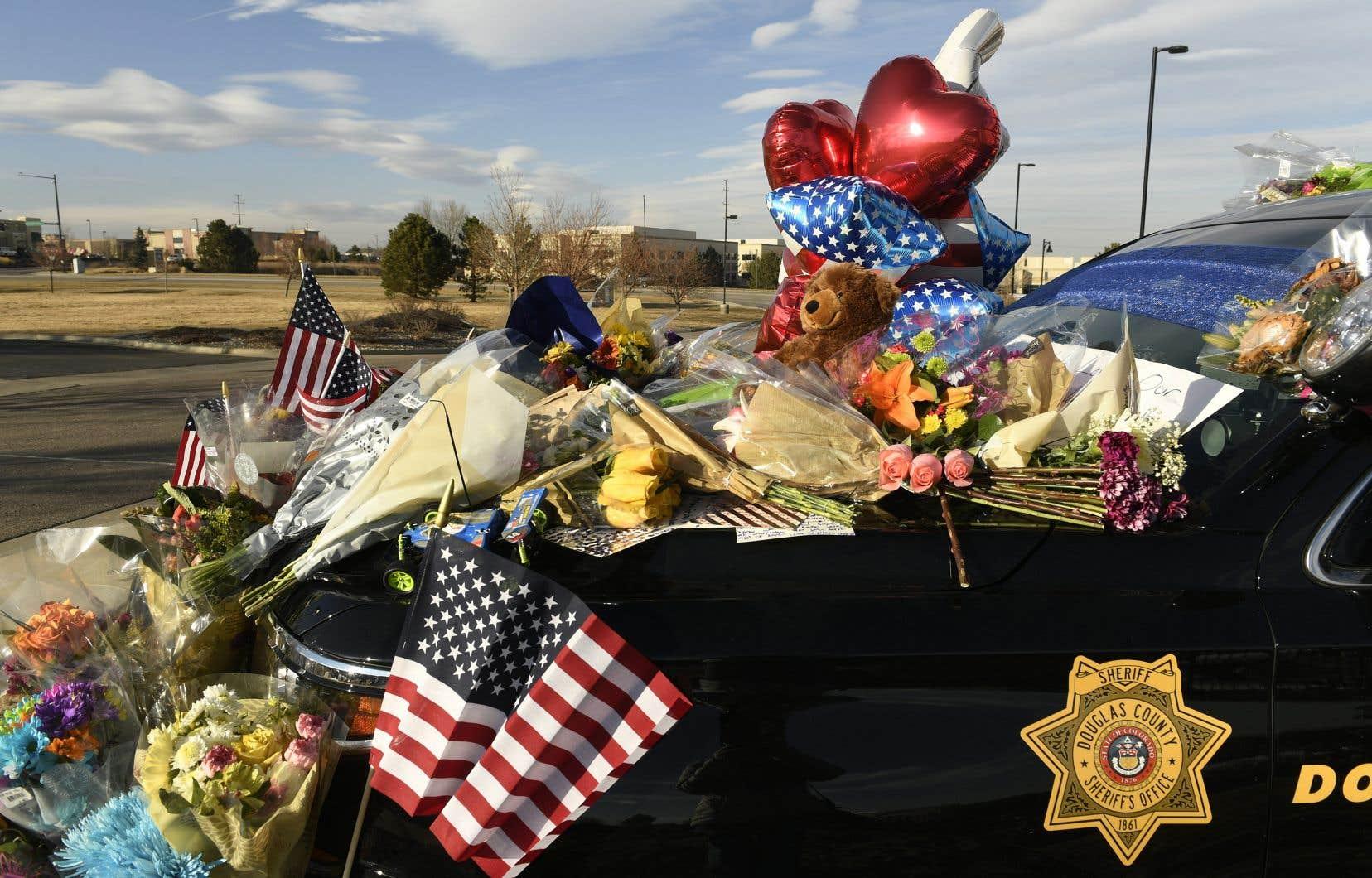 Le shérif adjoint Zackari Parrish a été tué dans la fusillade.