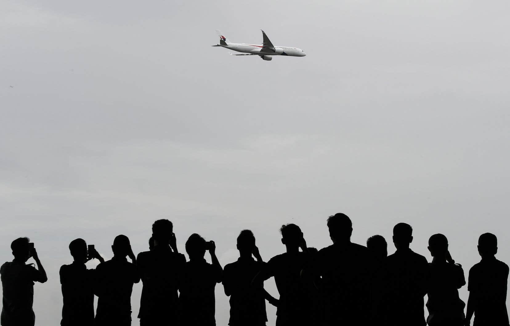 Selon les chiffres provisoires de l'Aviation Safety Network, il y a eu 36,8millions de vols en 2017.
