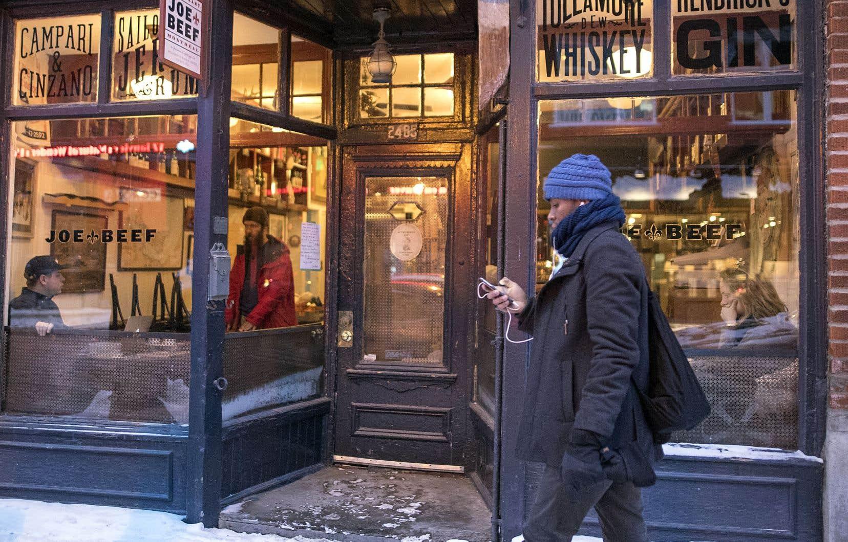 Le réputé restaurant Joe Beef a perdu sa cave à vin de collection dans la nuit de dimanche à lundi en raison d'une fuite d'eau causée par le dégel d'un tuyau.