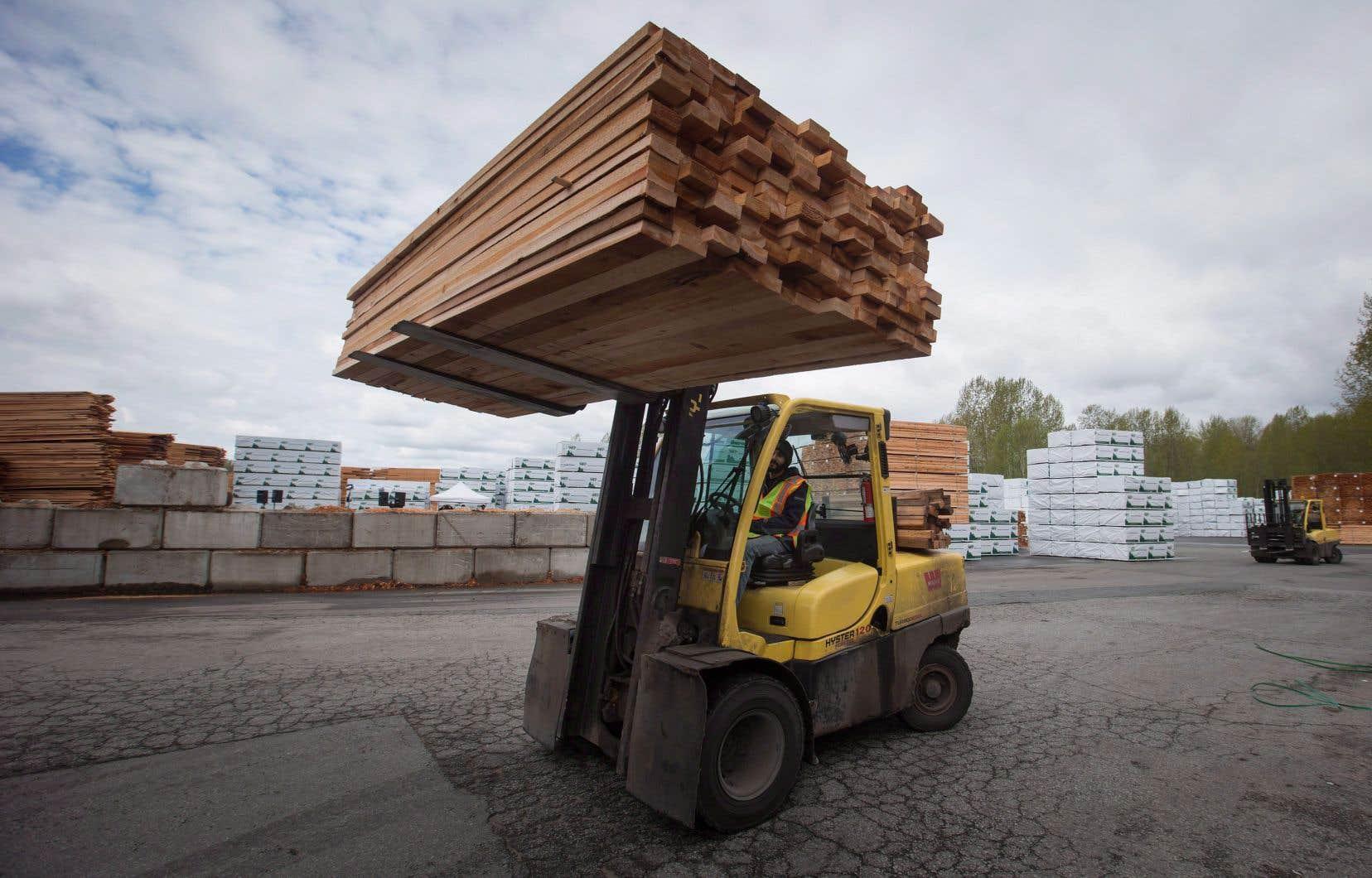 Au Québec, les exportations vers les États-Unis ont augmenté.