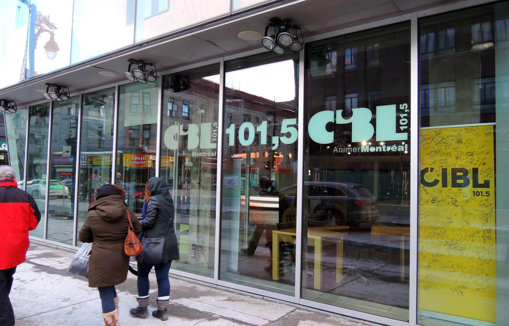 La station a quitté le boulevard Pie-IX en 2011 pour s'installer dans un espace plus moderne dans le Quartier des spectacles.