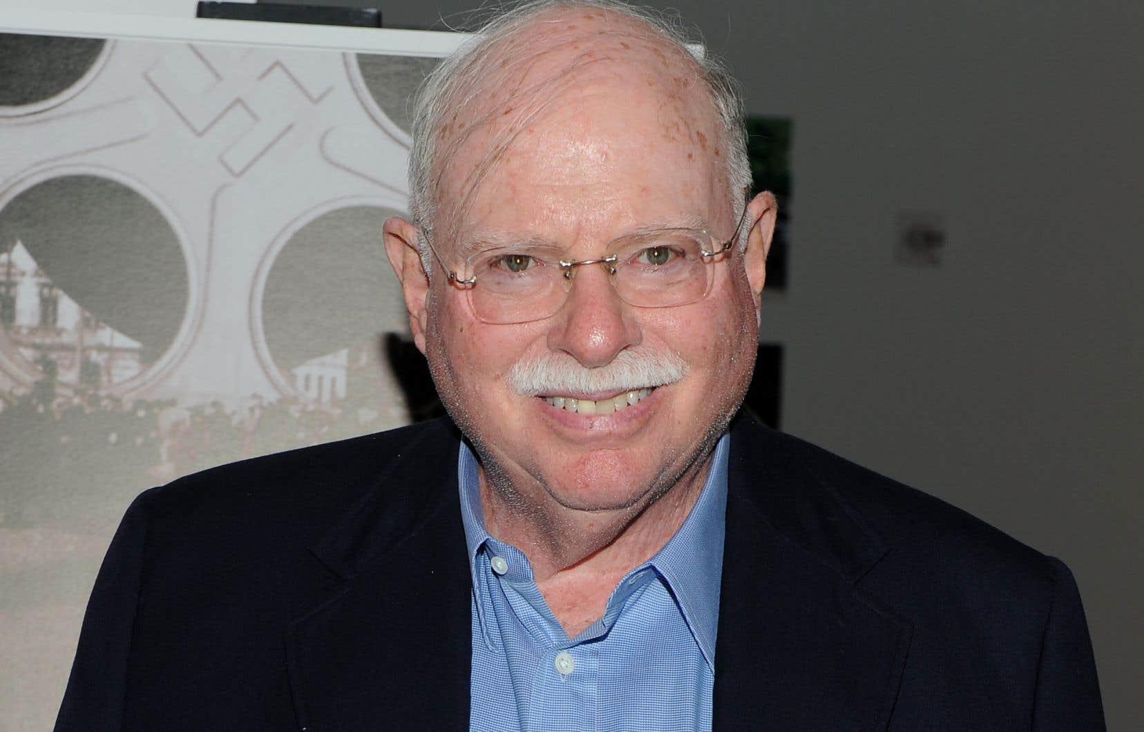 L'investisseur et collectionneur Michael Steinhardt, à New York, en 2010