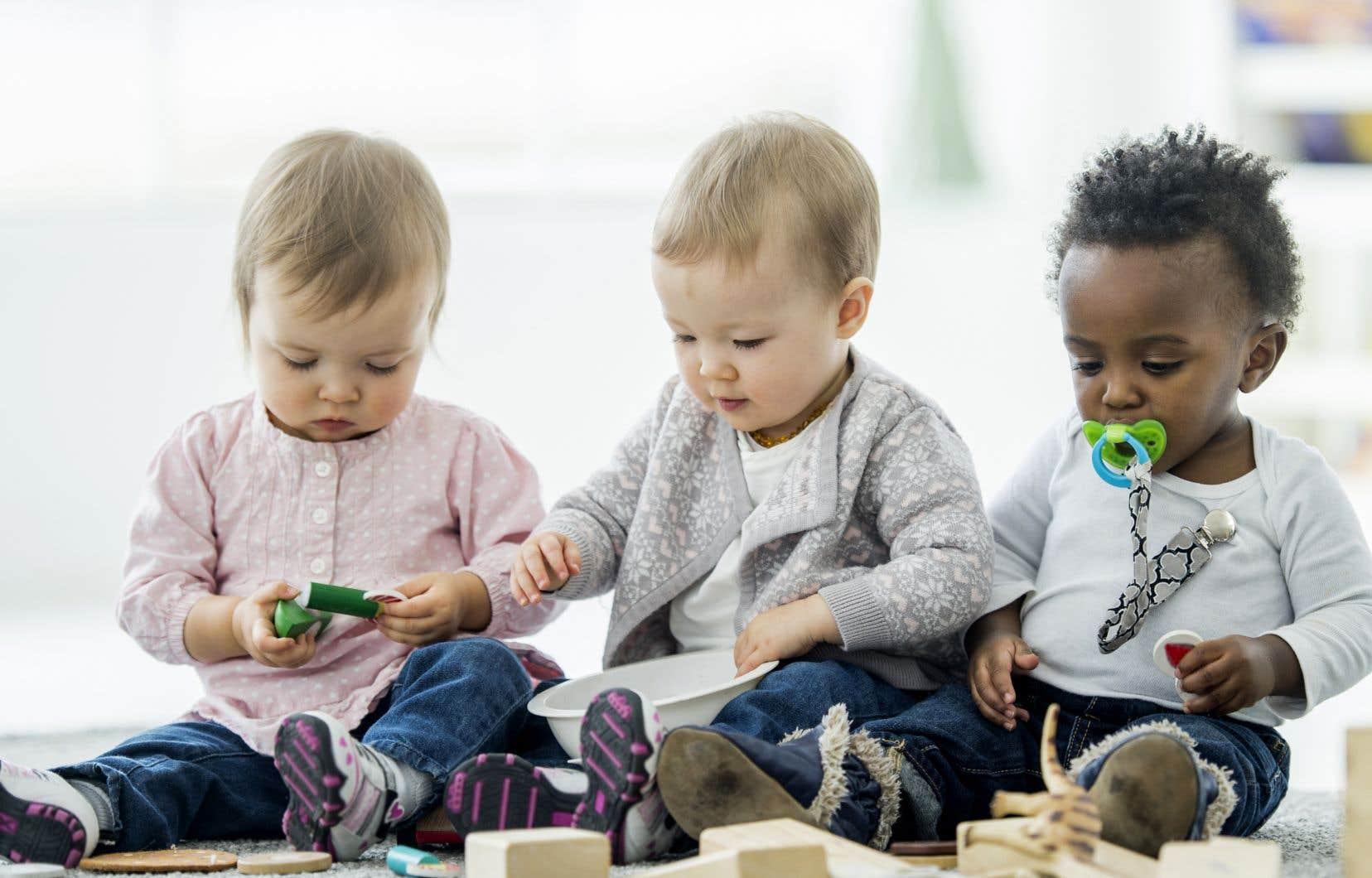 À partir du mois d'avril, le gouvernement québécois limitera le nombre d'enfants de plus de 18 mois dans les pouponnières.