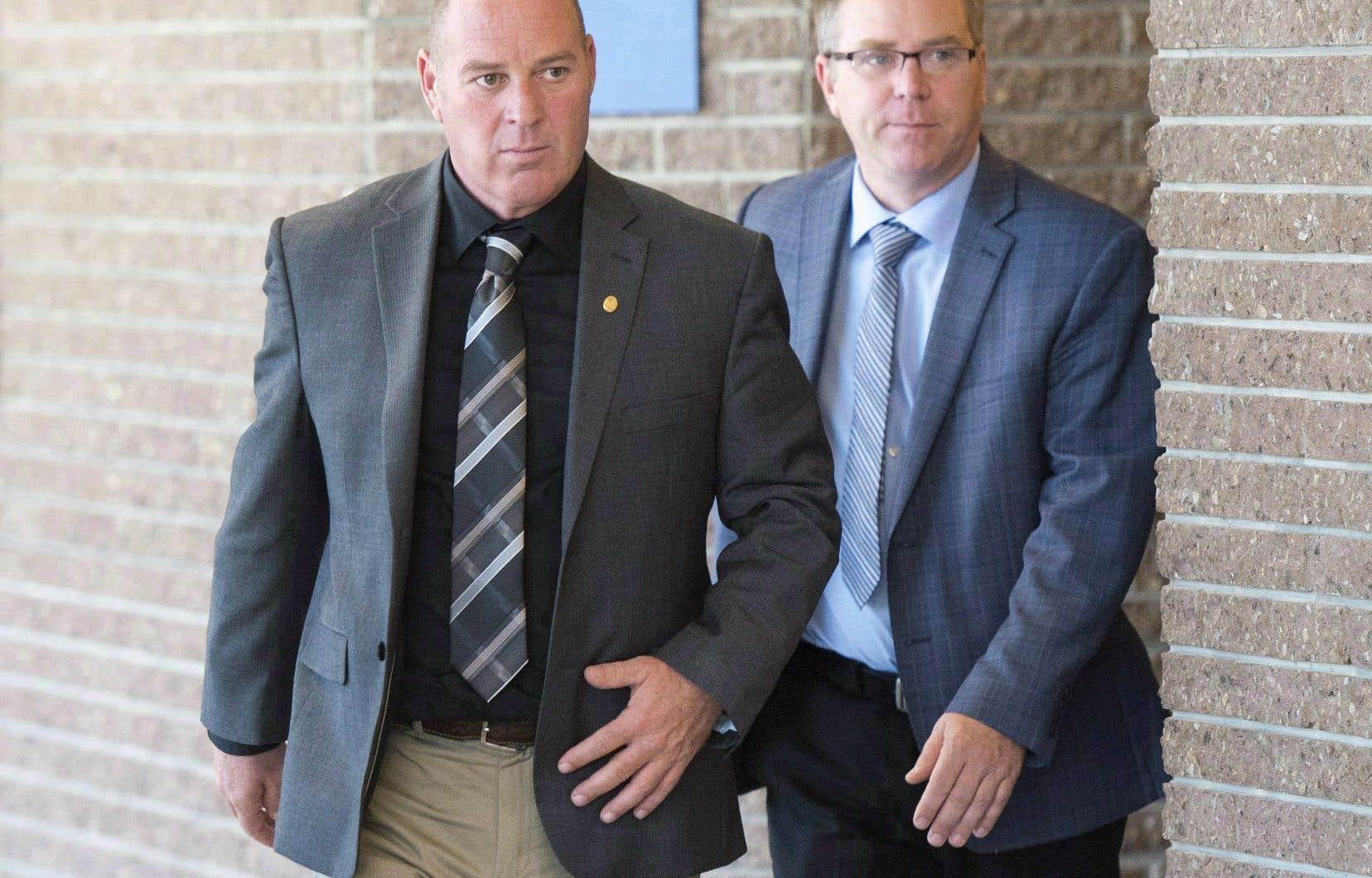 Le chef de train Thomas Harding a plaidé non coupable à l'accusation de négligence criminelle ayant causé la mort.
