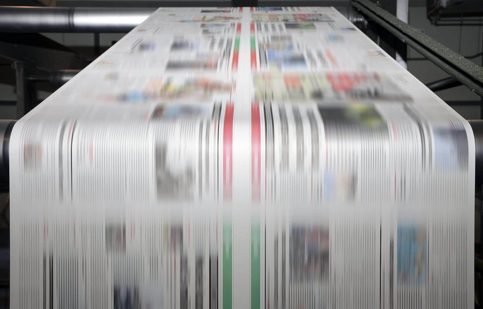 L'industrie canadienne du papier journal repose sur plus d'une vingtaine d'usines.