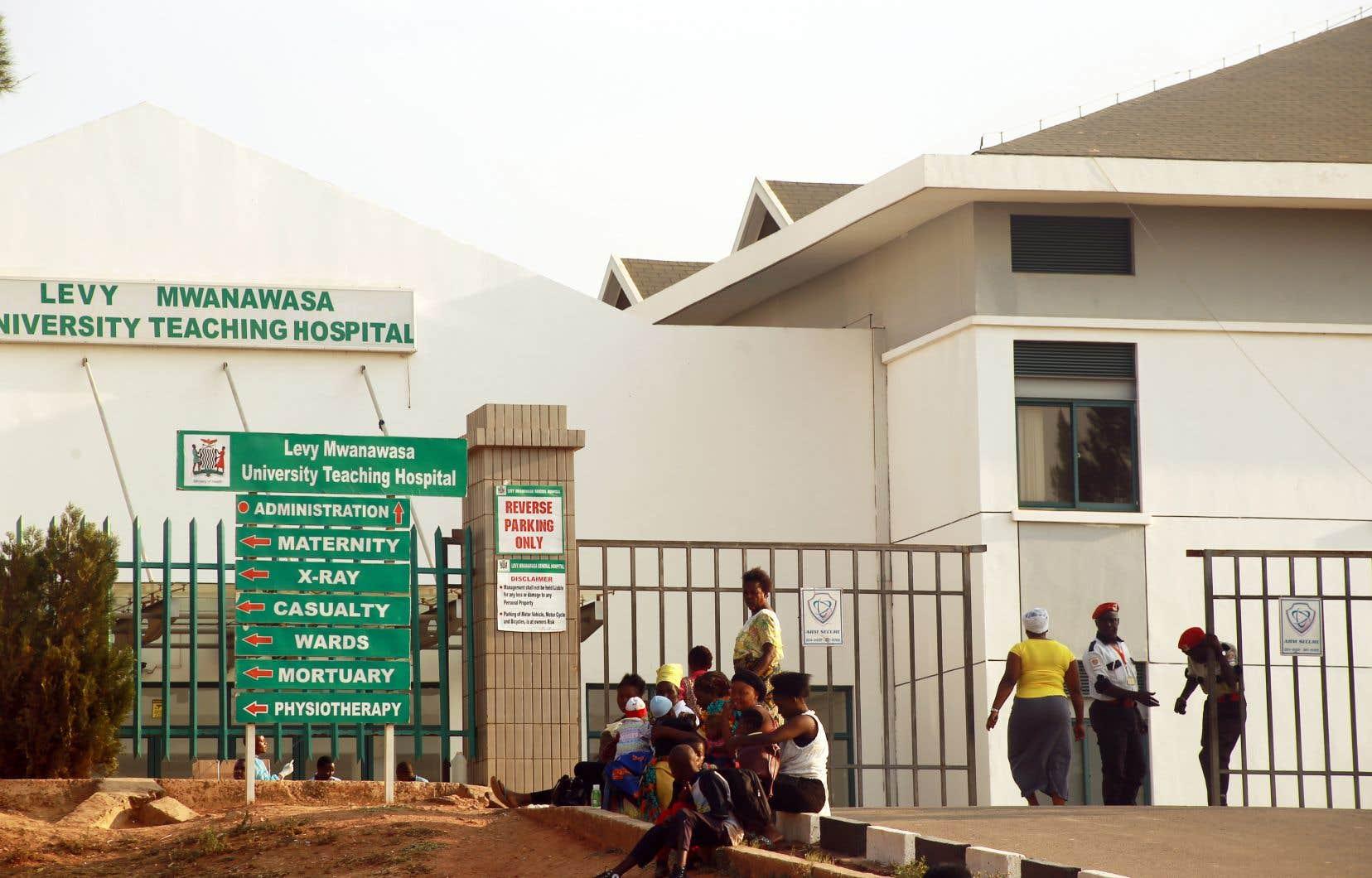 La capitale zambienne,Lusaka, a été régulièrement frappée par des épisodes de choléra ces dernières années.