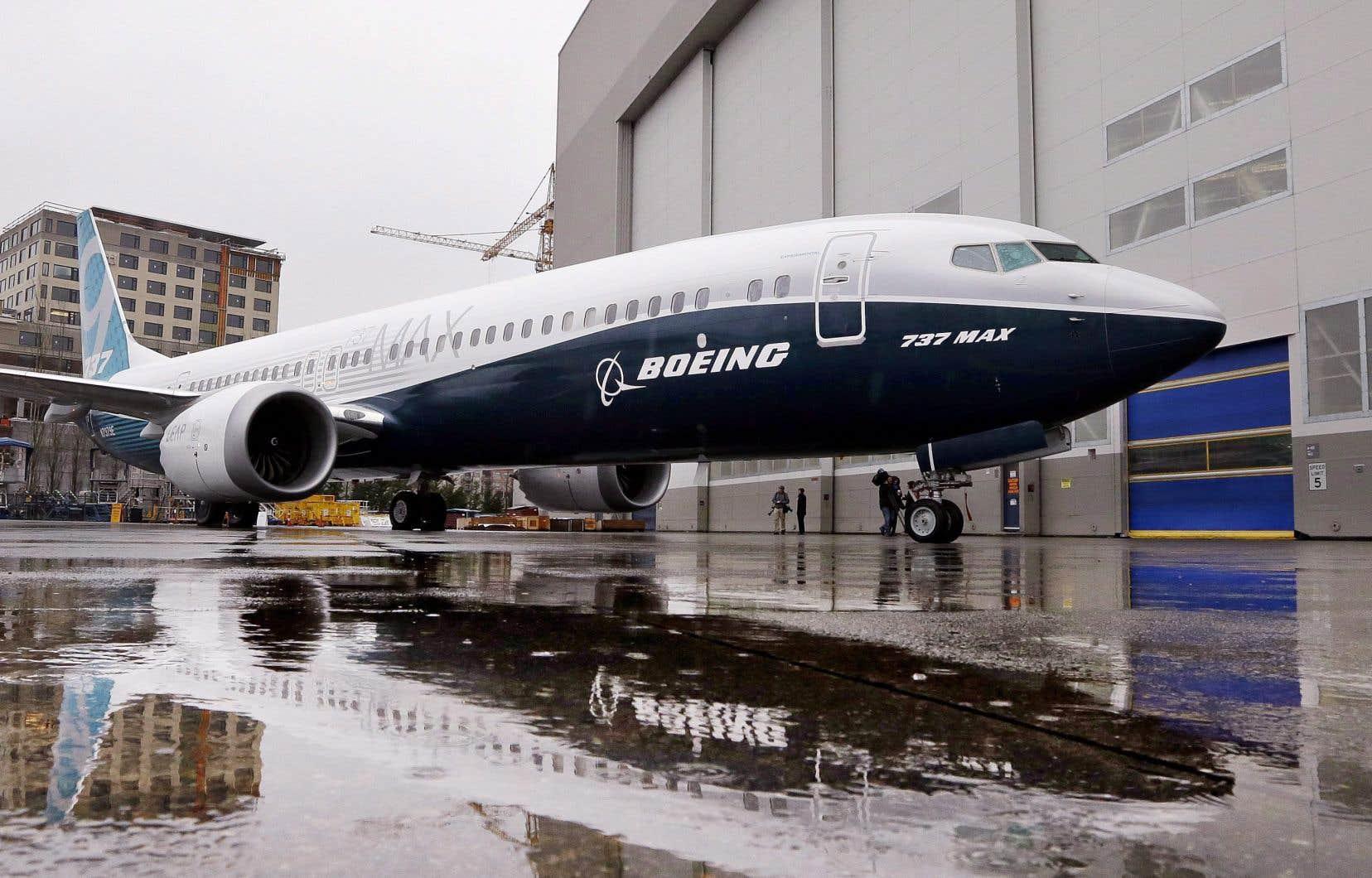 L'avion monocouloir 737 reste l'appareil le plus vendu de Boeing, avec 529 livraisons l'an dernier.