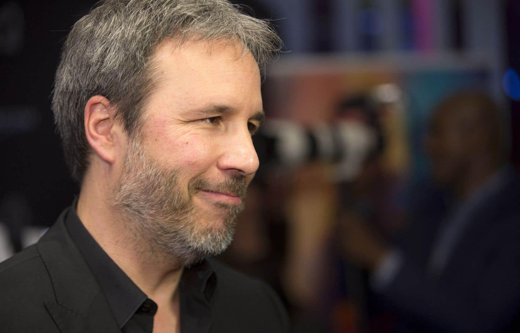 Denis Villeneuve lors de la première de «Blade Runner 2049», à Montréal